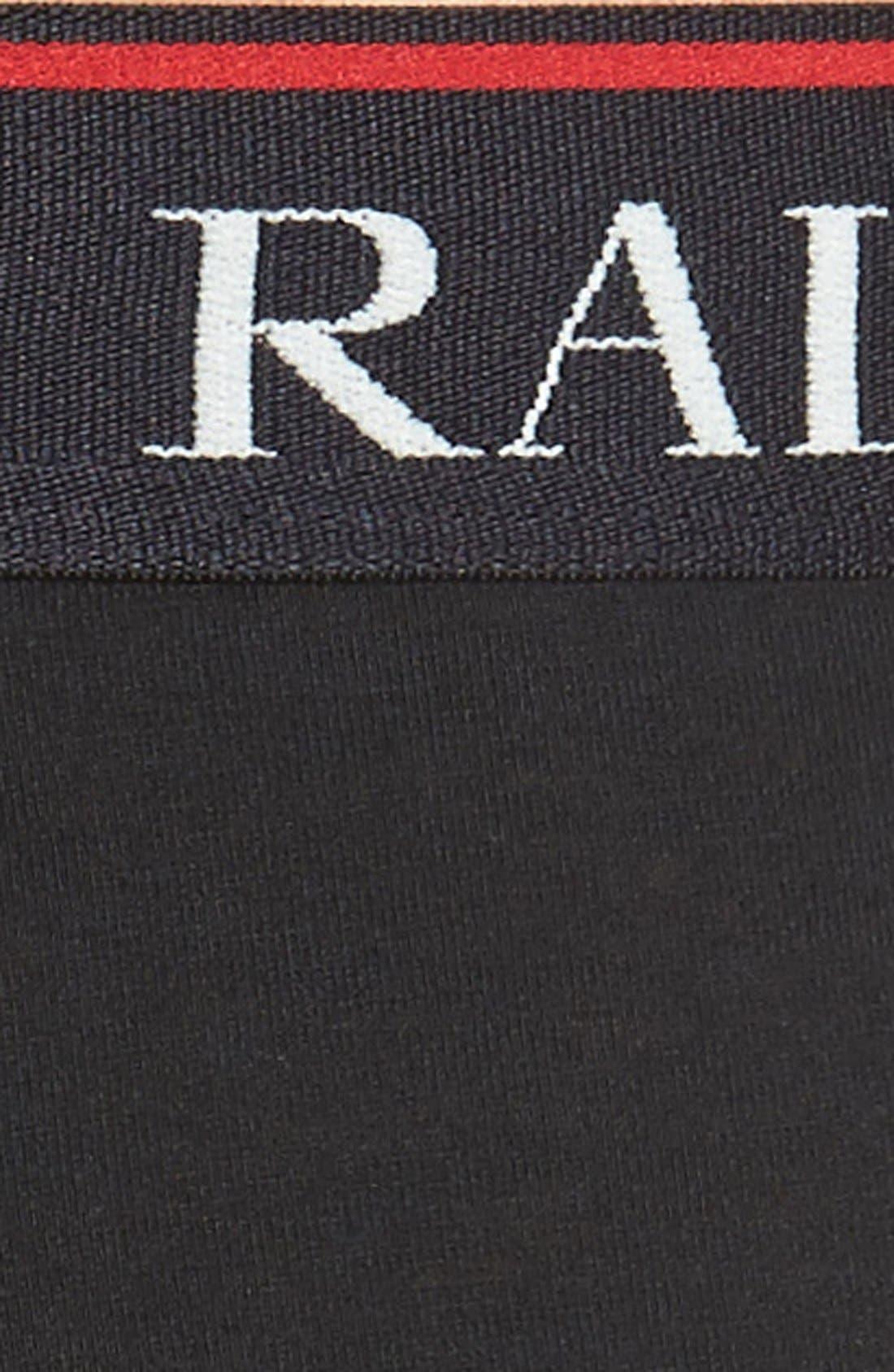 3-Pack Stretch Cotton Boxer Briefs,                             Alternate thumbnail 5, color,                             001