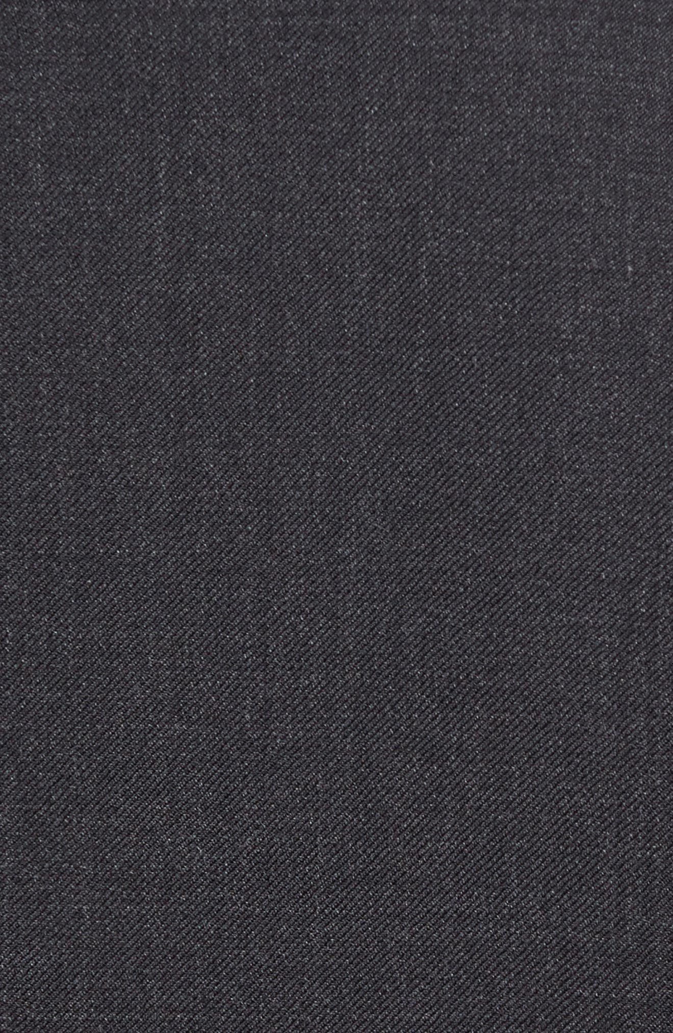 Chicago Classic Fit Solid Wool Suit,                             Alternate thumbnail 4, color,                             010