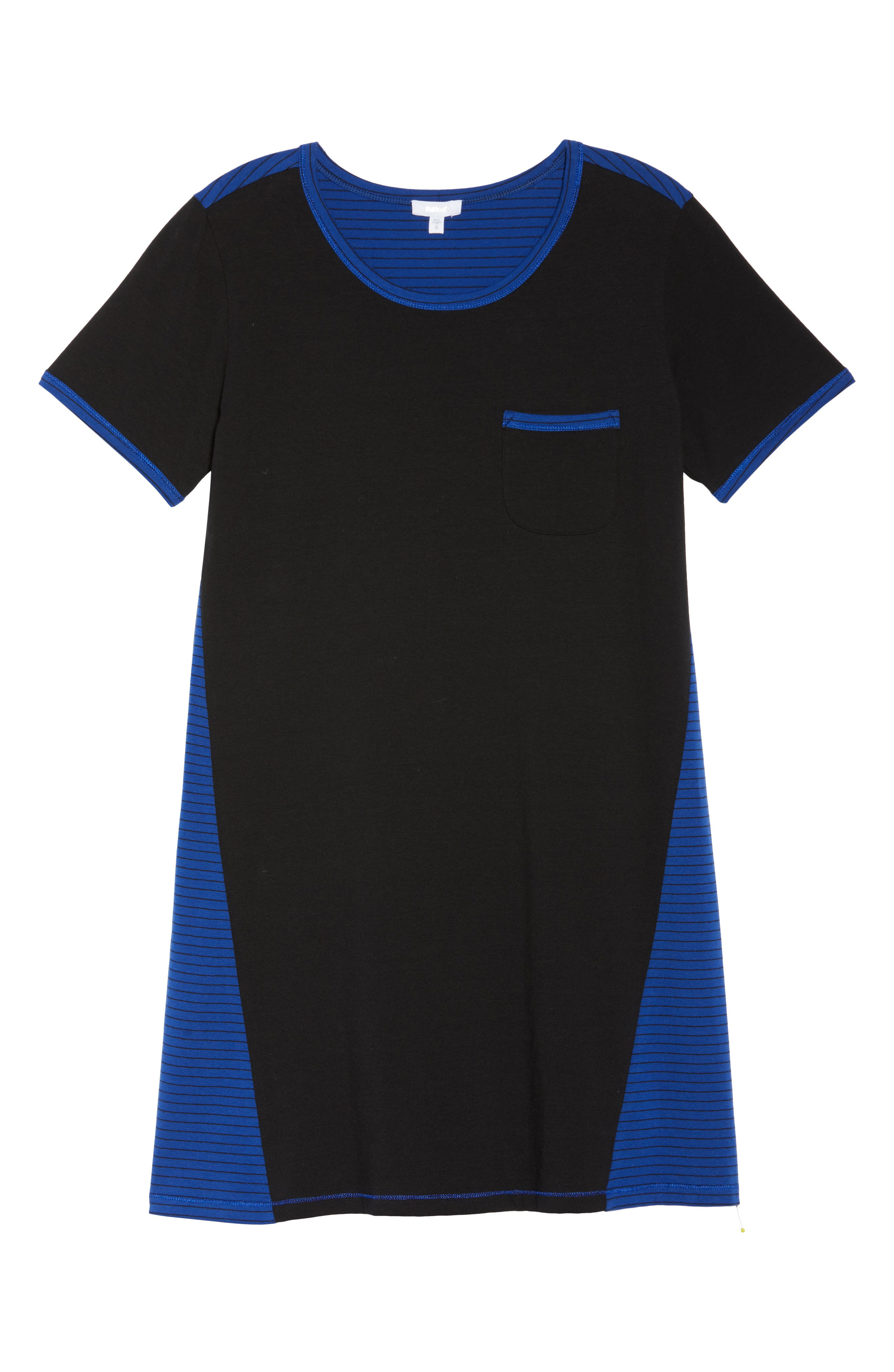 Power Stripe Sleep Shirt,                             Alternate thumbnail 6, color,                             408