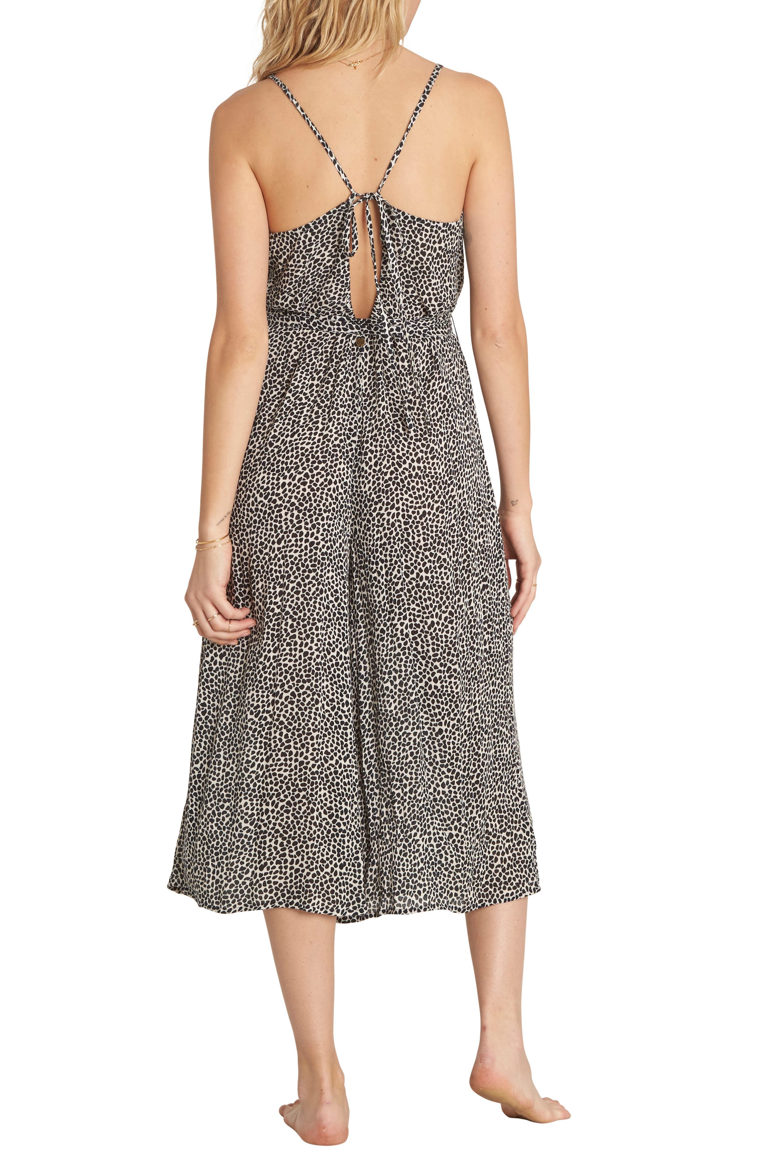 Wild Hearts Tie Waist Midi Dress,                             Alternate thumbnail 2, color,                             900