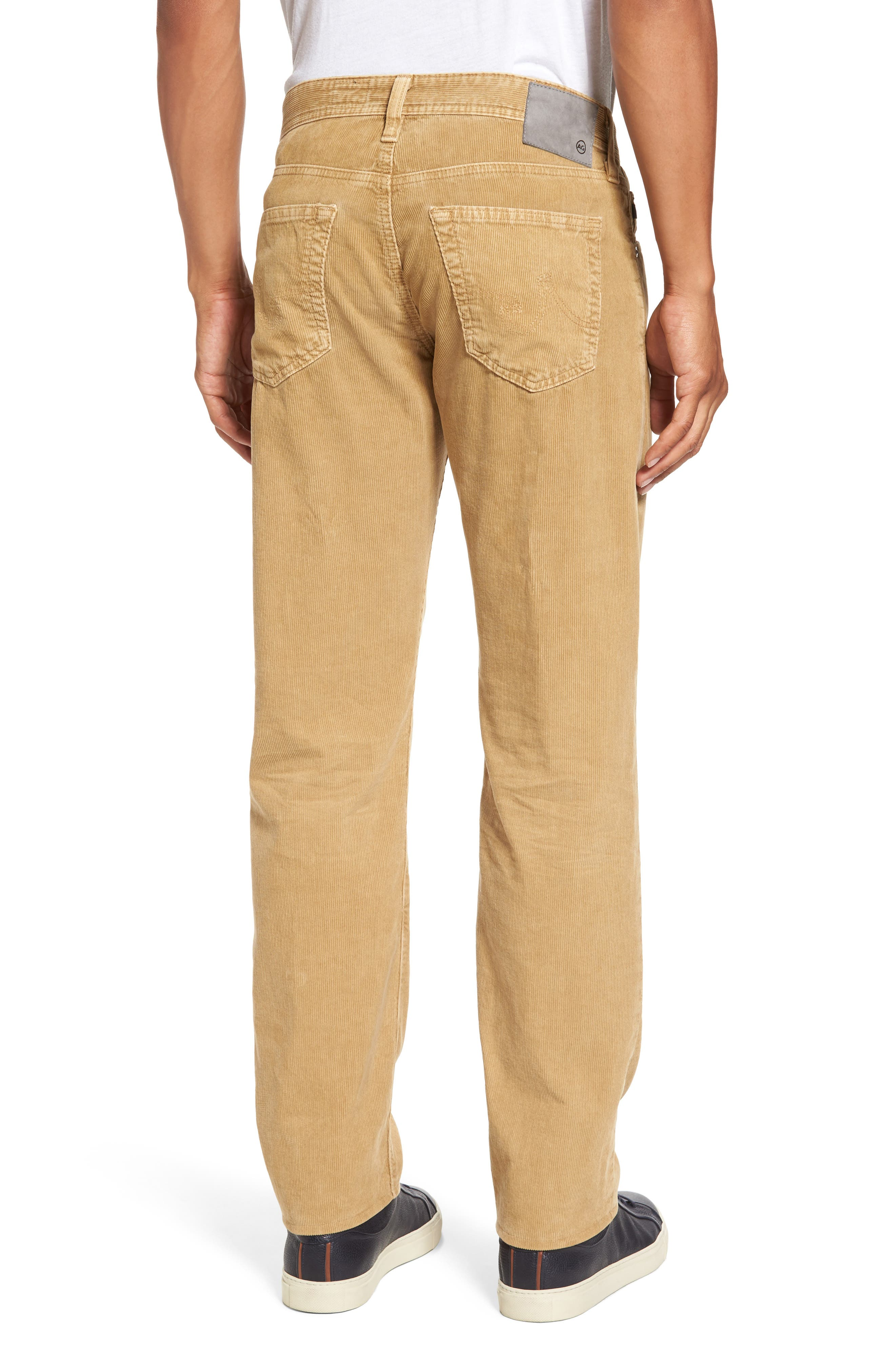 'Graduate' Tailored Straight Leg Corduroy Pants,                             Alternate thumbnail 17, color,