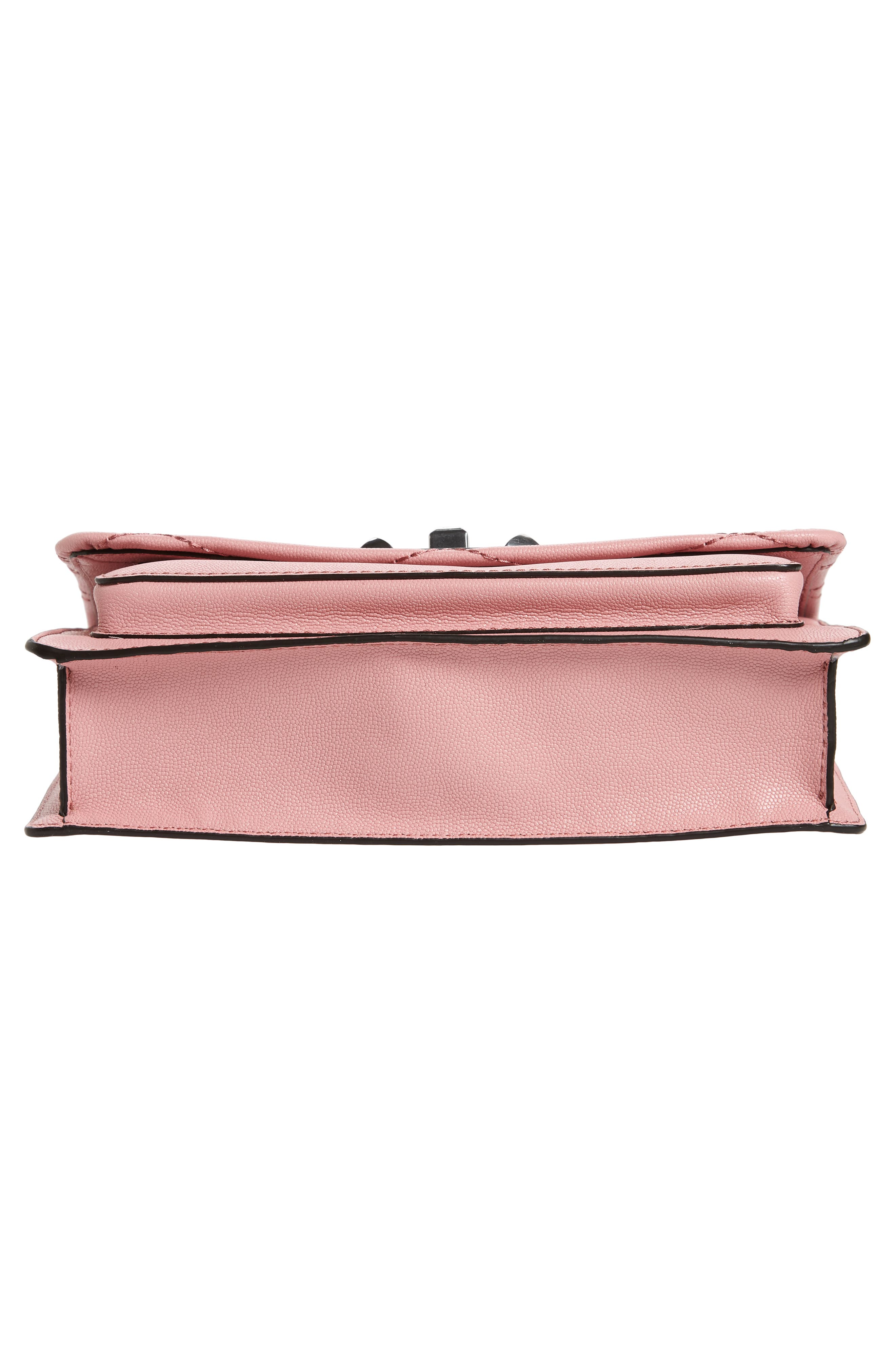 Medium Je T'aime Convertible Leather Crossbody Bag,                             Alternate thumbnail 59, color,