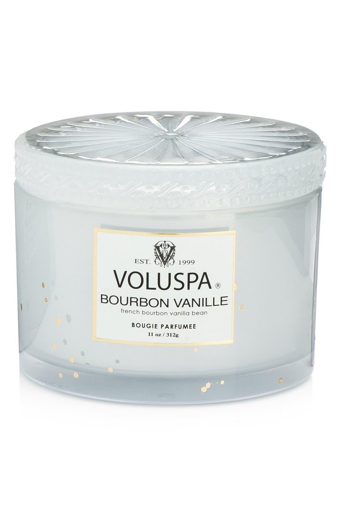 'Maison Blanc - Bourbon Vanille' Boxed Lidded Candle,                             Alternate thumbnail 2, color,                             000