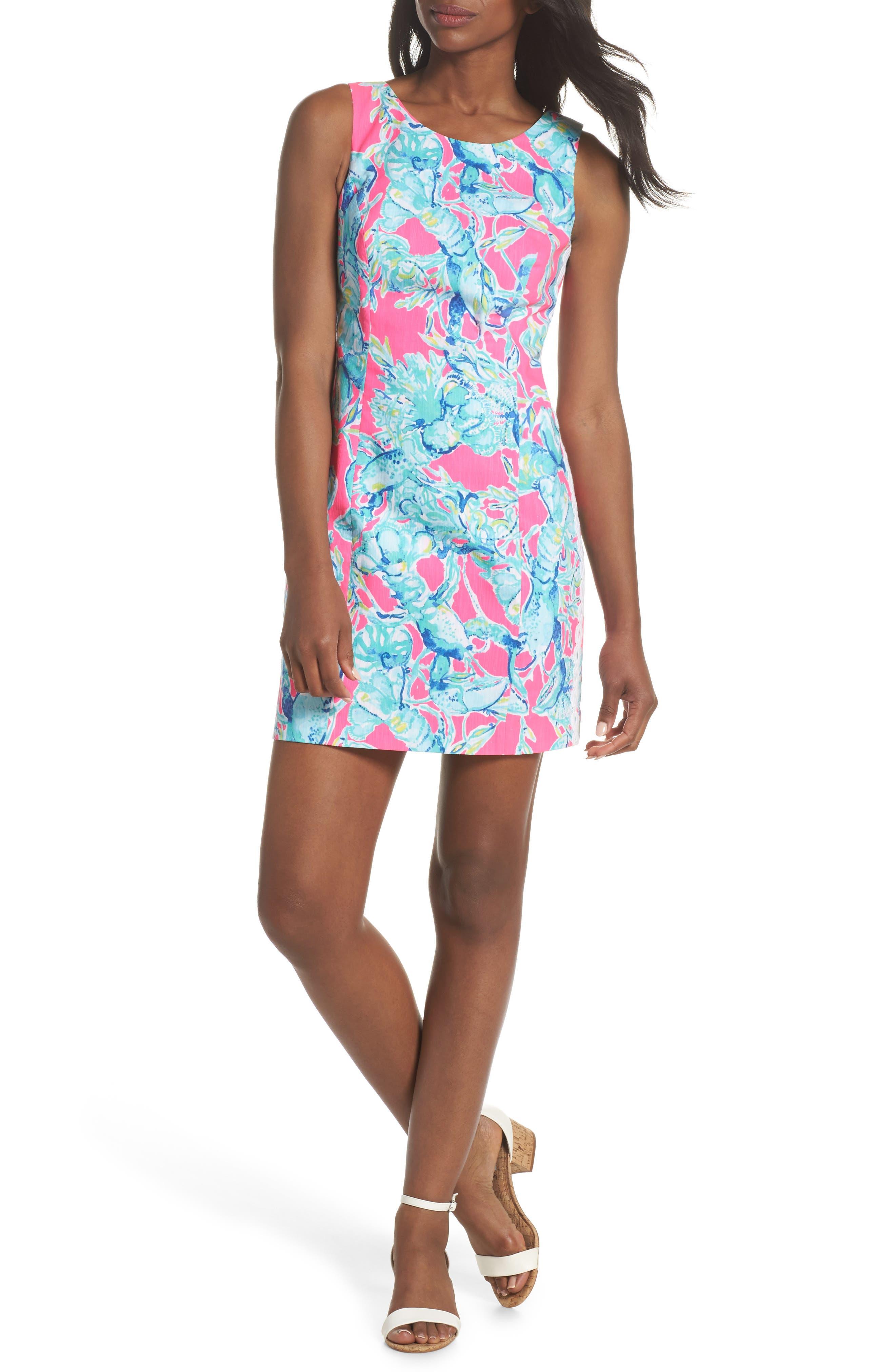 Mila Sheath Dress,                             Alternate thumbnail 6, color,                             655