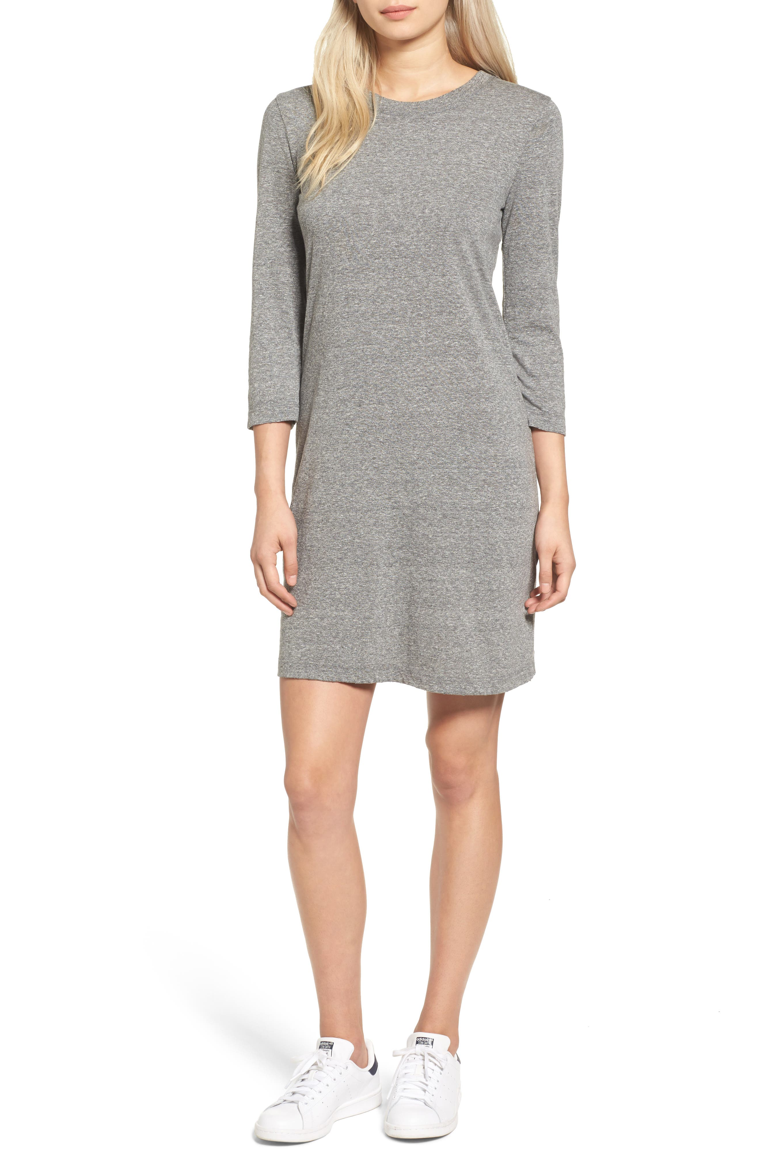 T-Shirt Dress,                             Main thumbnail 1, color,                             099