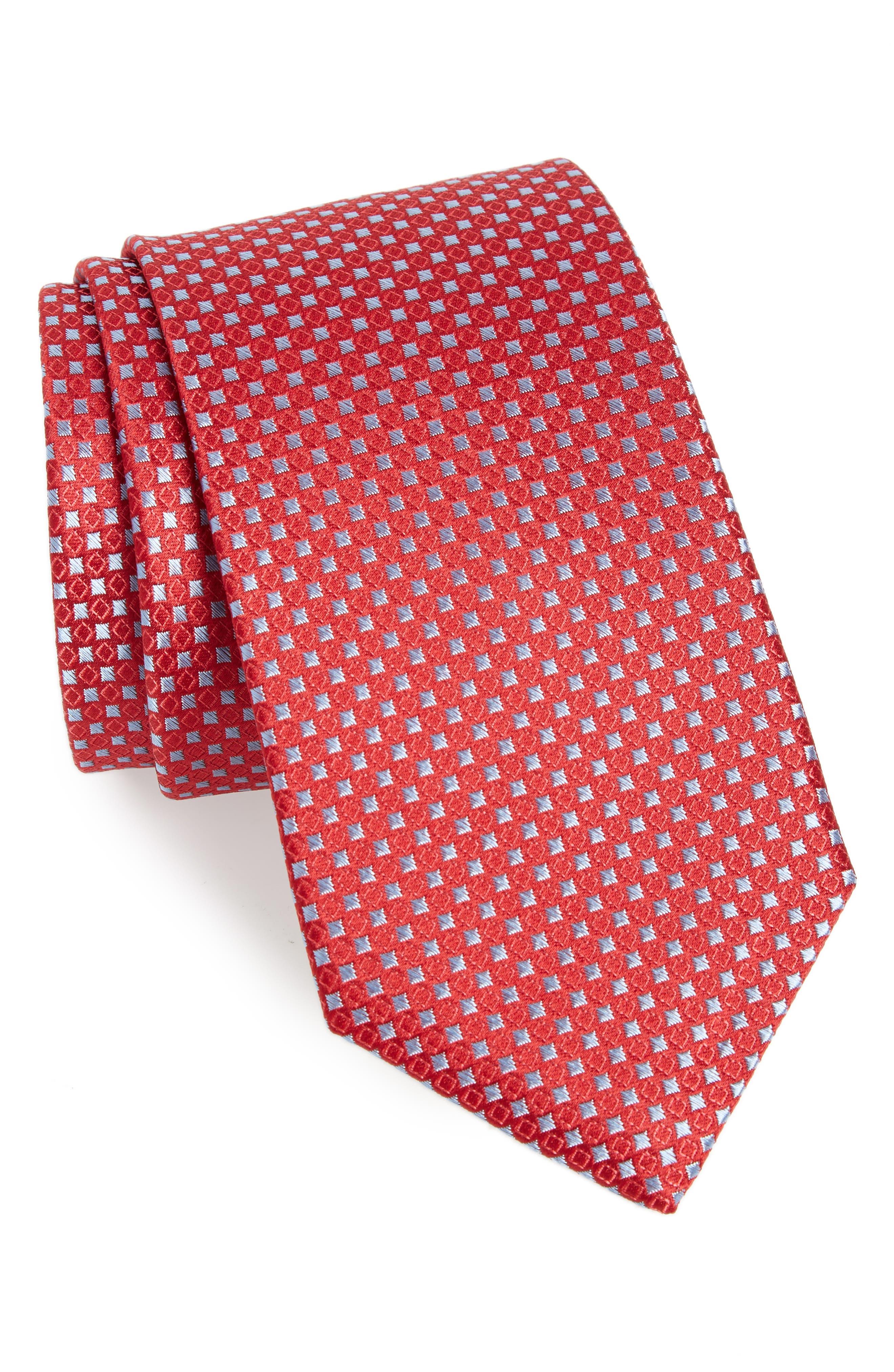 Chad Microdot Silk Tie,                             Main thumbnail 7, color,