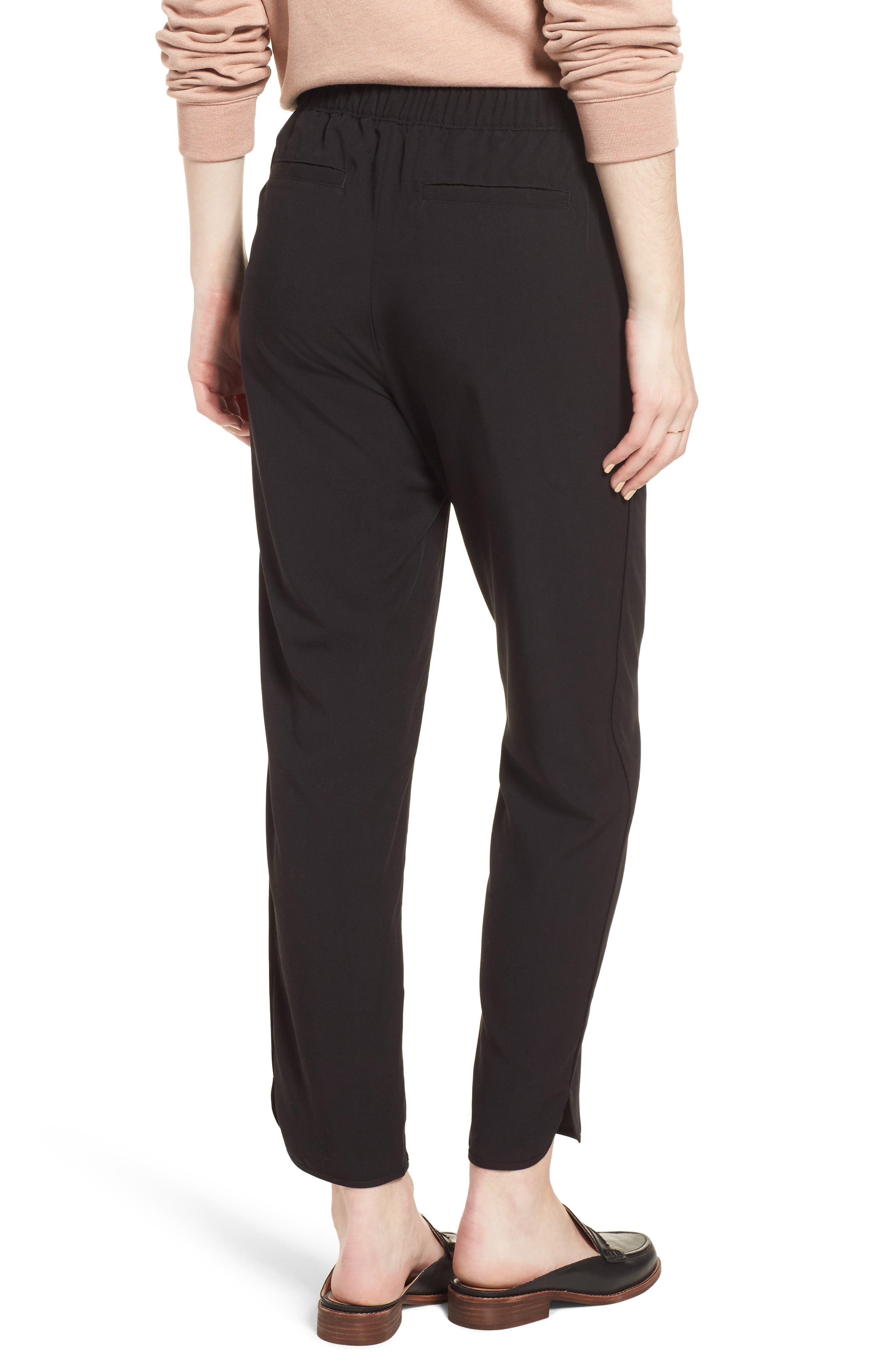 MADEWELL,                             Drawstring Track Trousers,                             Alternate thumbnail 2, color,                             001