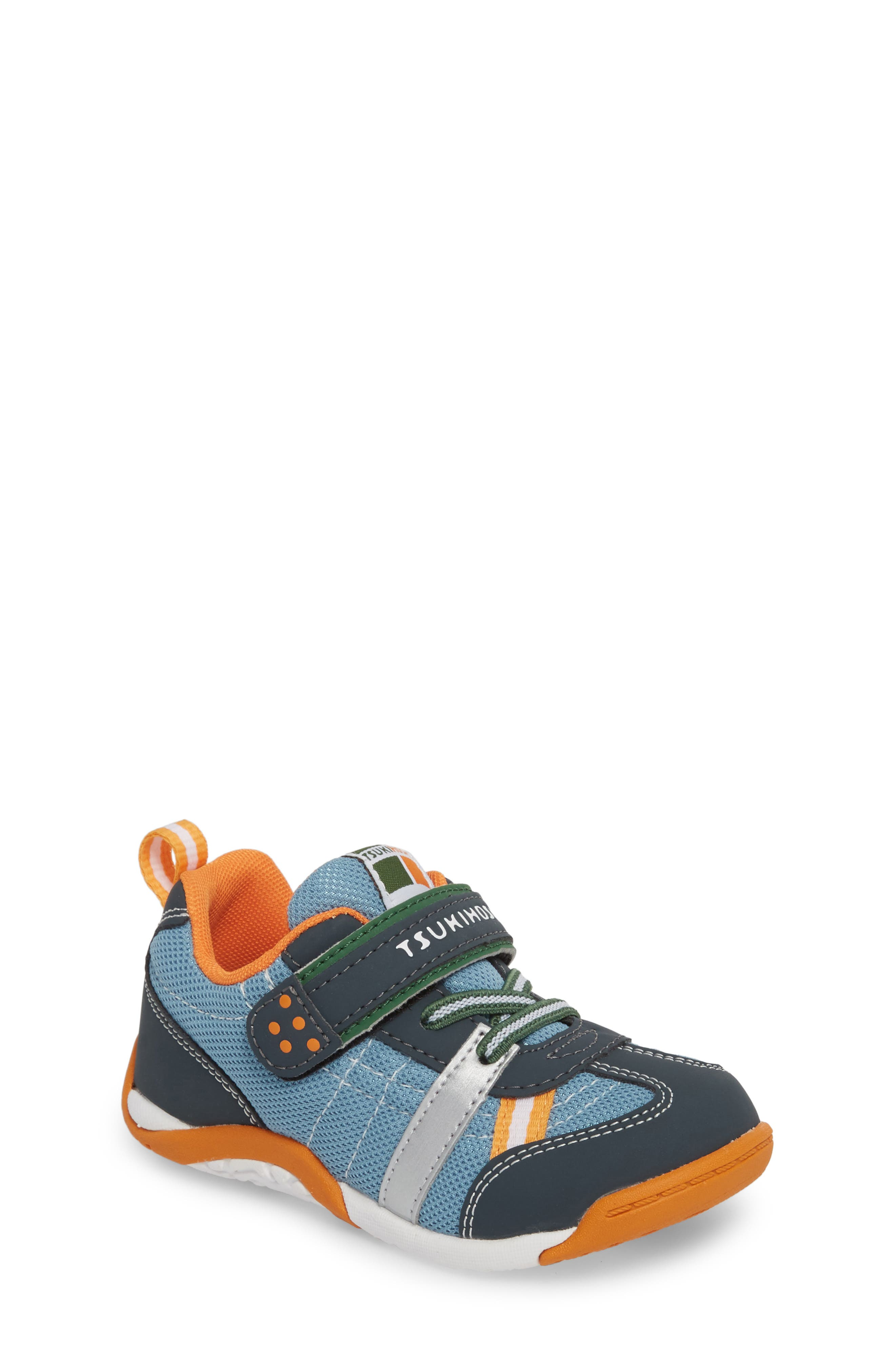 Kaz Washable Sneaker,                         Main,                         color, CHARCOAL/ SEA