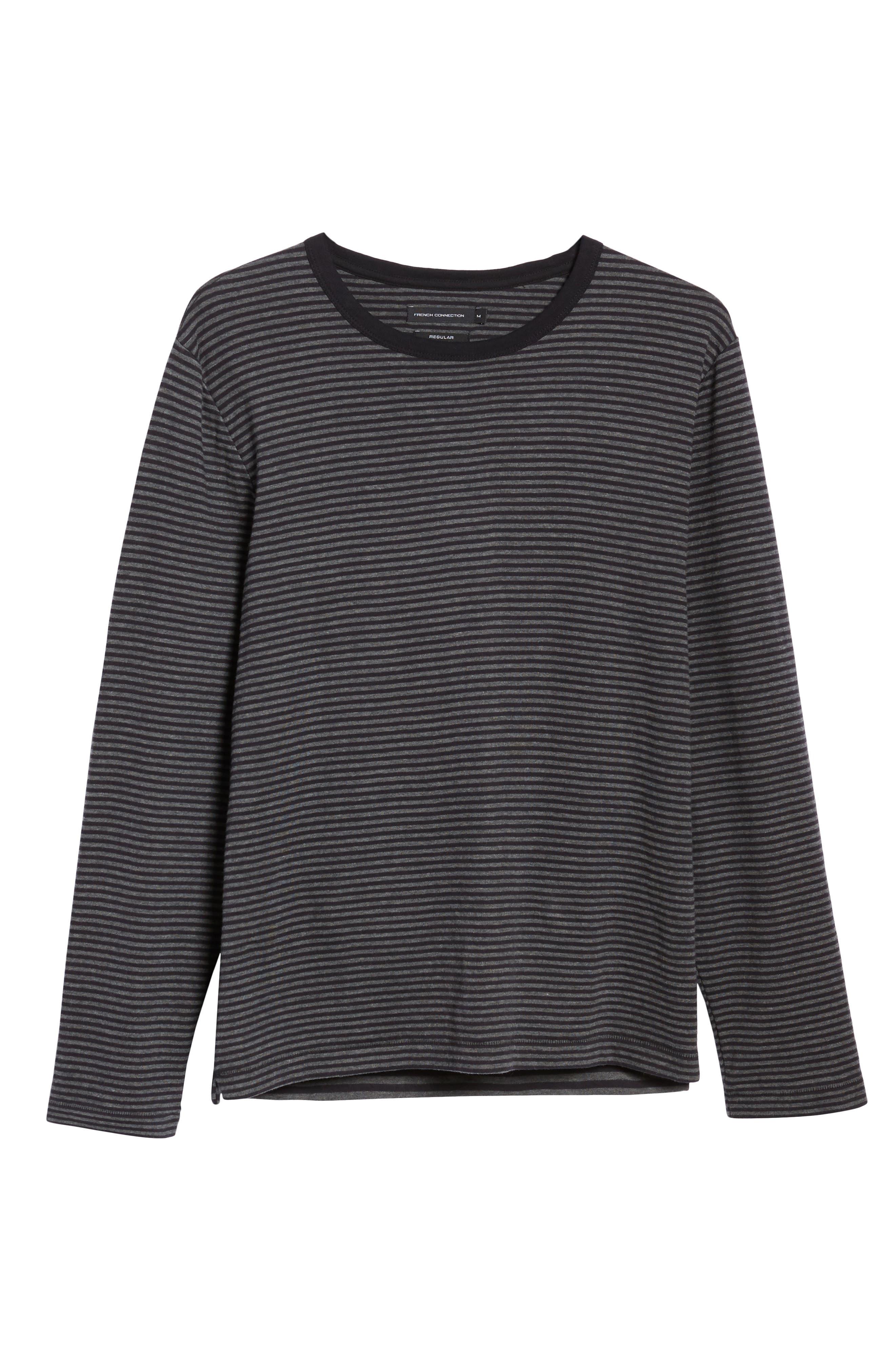 Alternative Stripe Long Sleeve T-Shirt,                             Alternate thumbnail 6, color,                             020