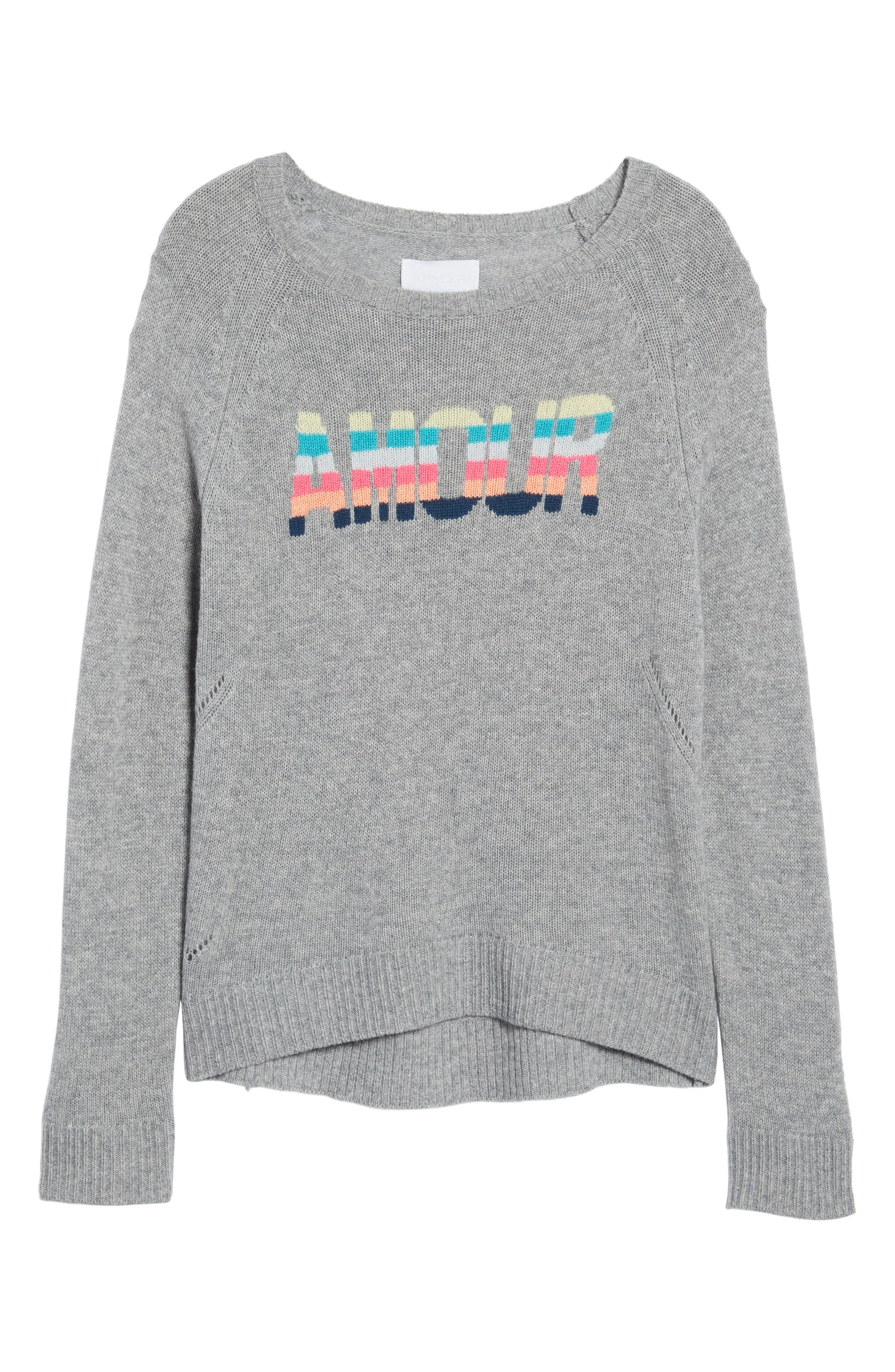 Baly Bis Cashmere Sweater,                             Alternate thumbnail 6, color,