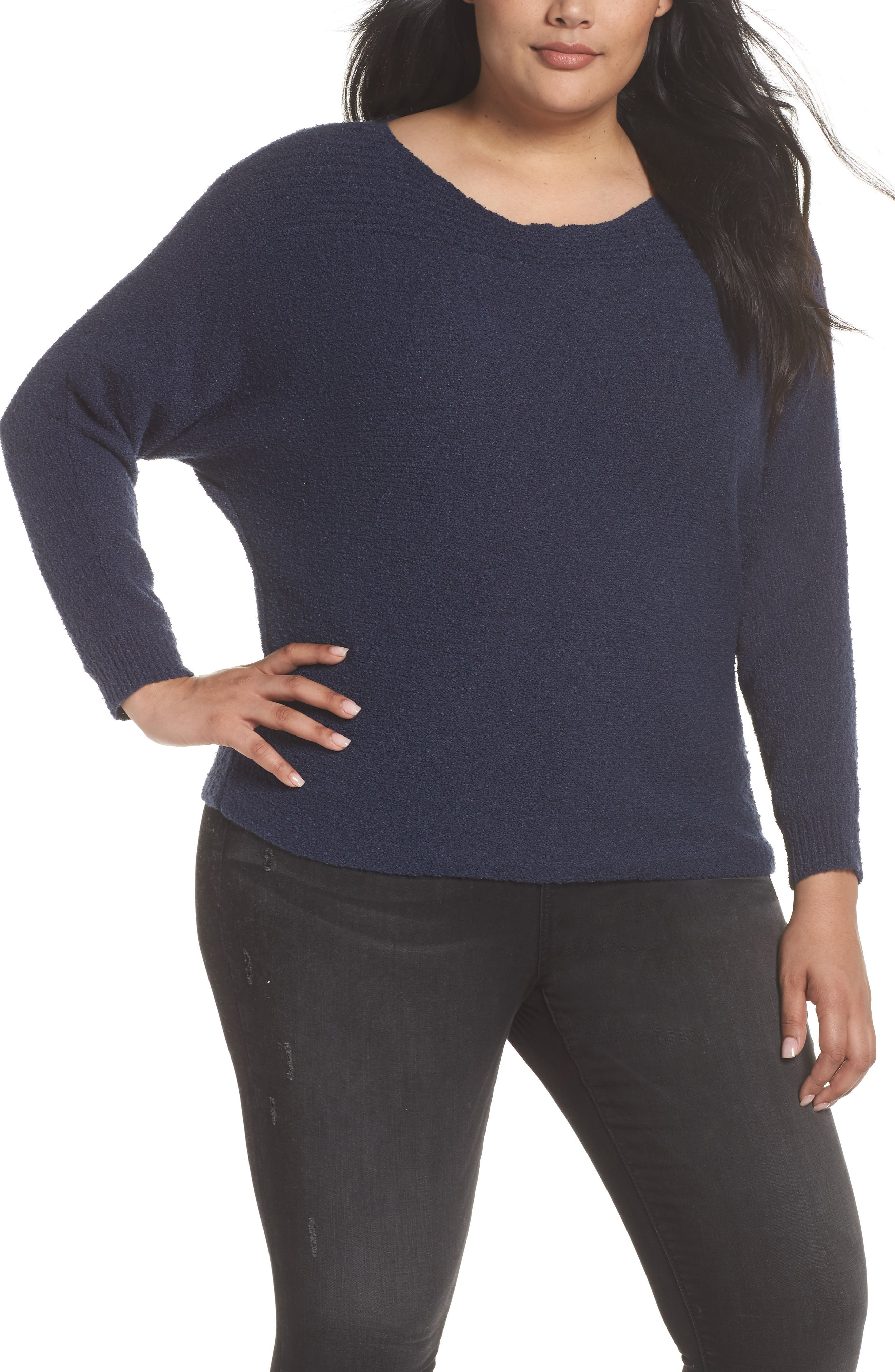Horizontal Pullover Sweater,                         Main,                         color, 410