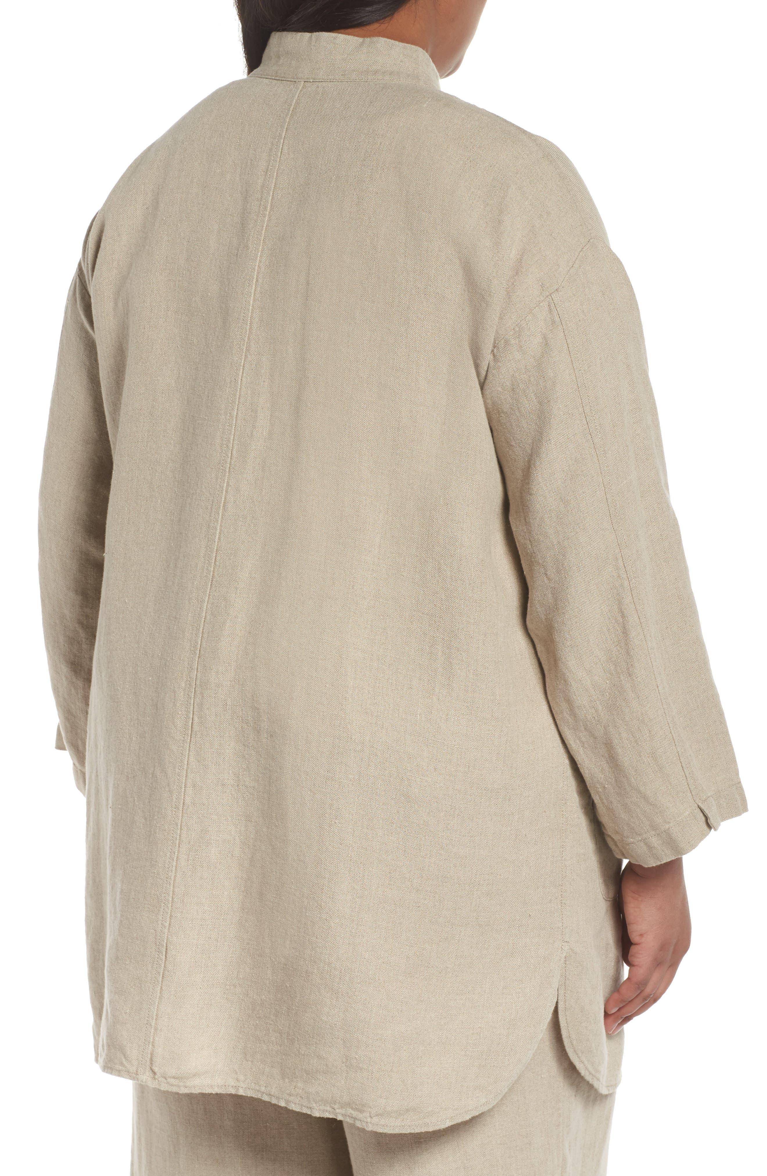 Organic Linen Jacket,                             Alternate thumbnail 2, color,                             251