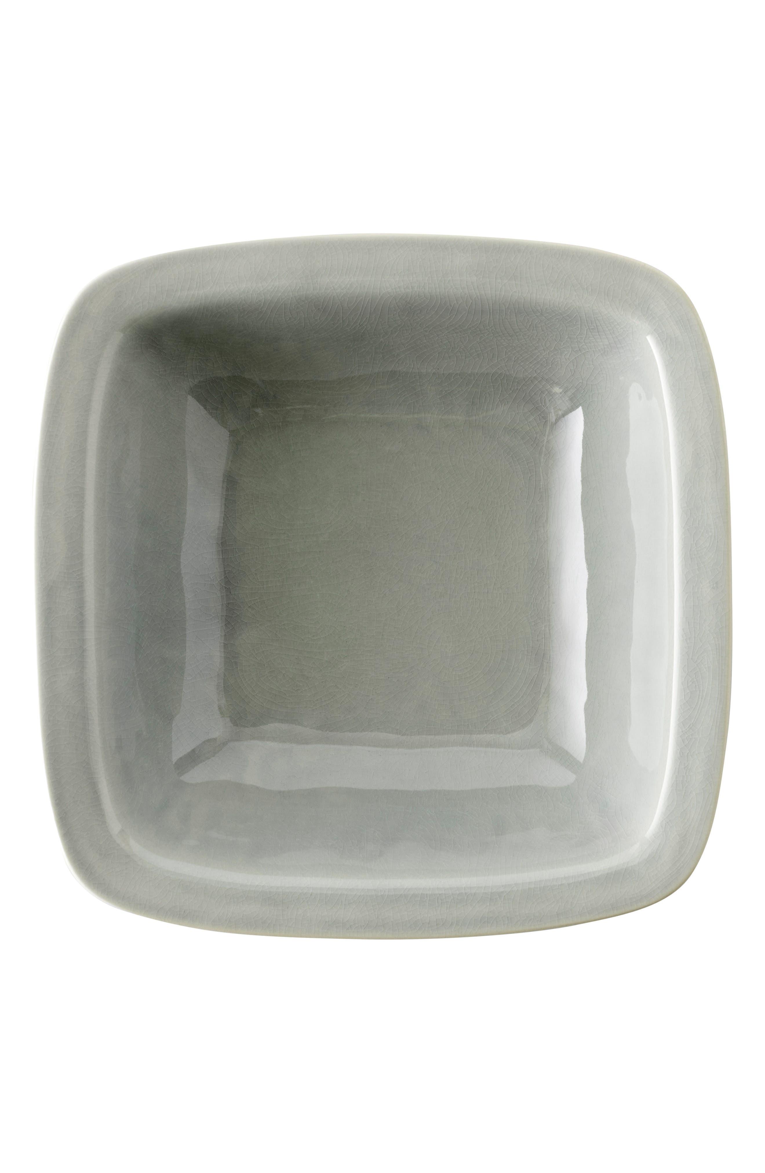 Puro Large Ceramic Serving Bowl,                             Alternate thumbnail 2, color,                             MIST GREY CRACKLE