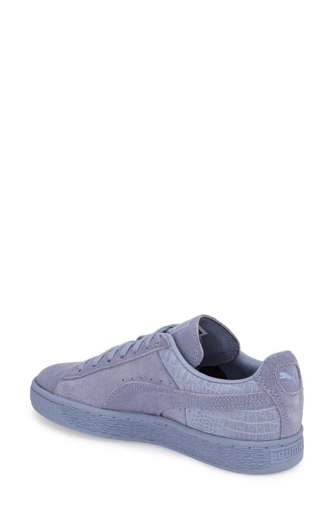 Suede Sneaker,                             Alternate thumbnail 48, color,