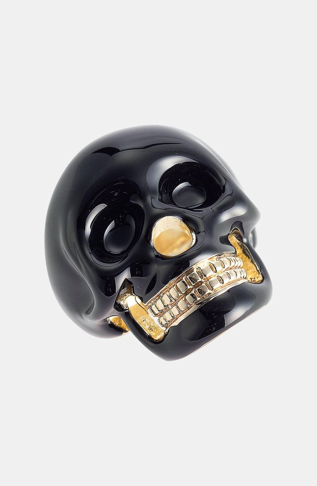 Skull Ring,                             Main thumbnail 1, color,                             001