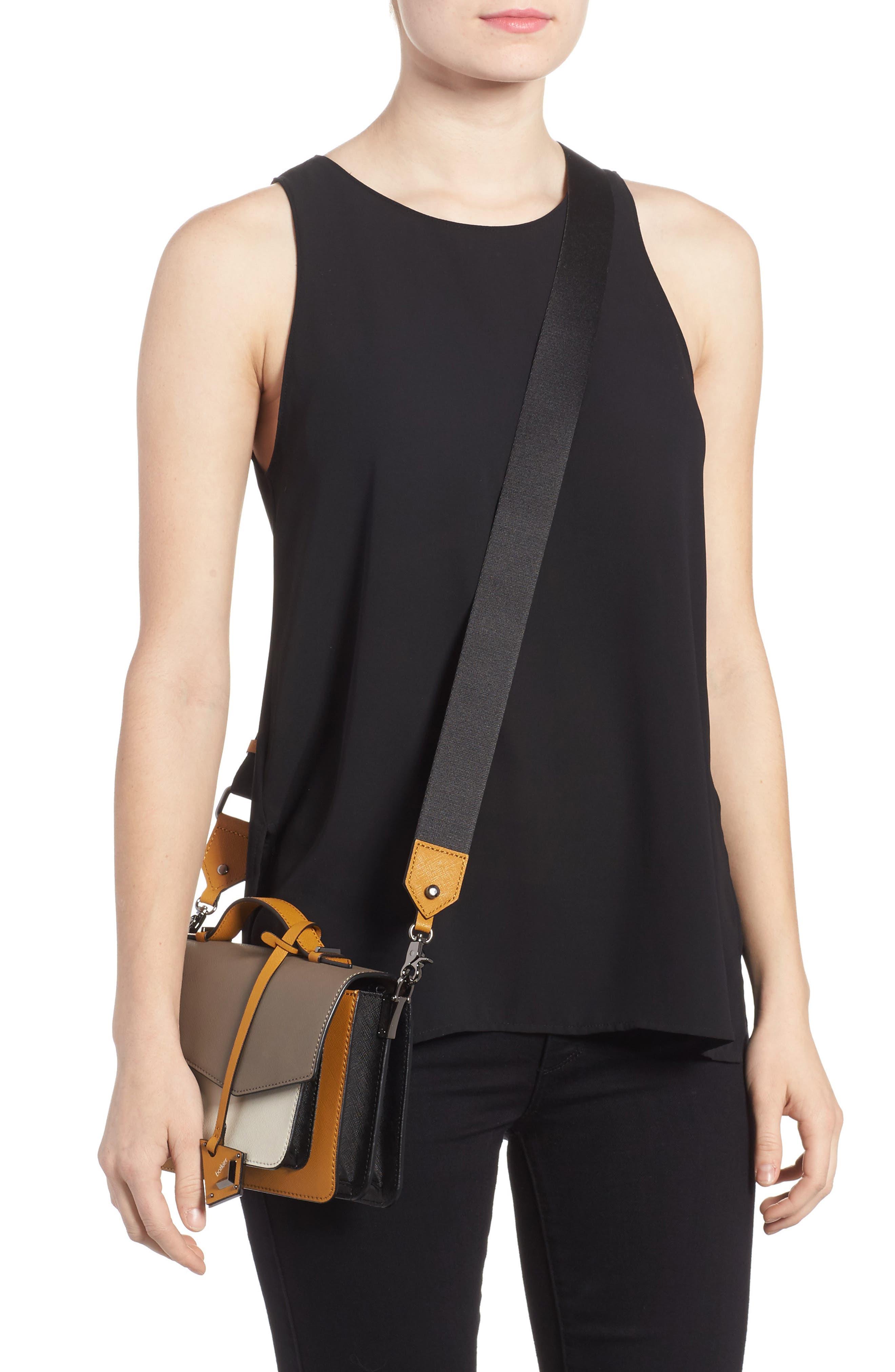 Cobble Hill Leather Crossbody Bag,                             Alternate thumbnail 32, color,