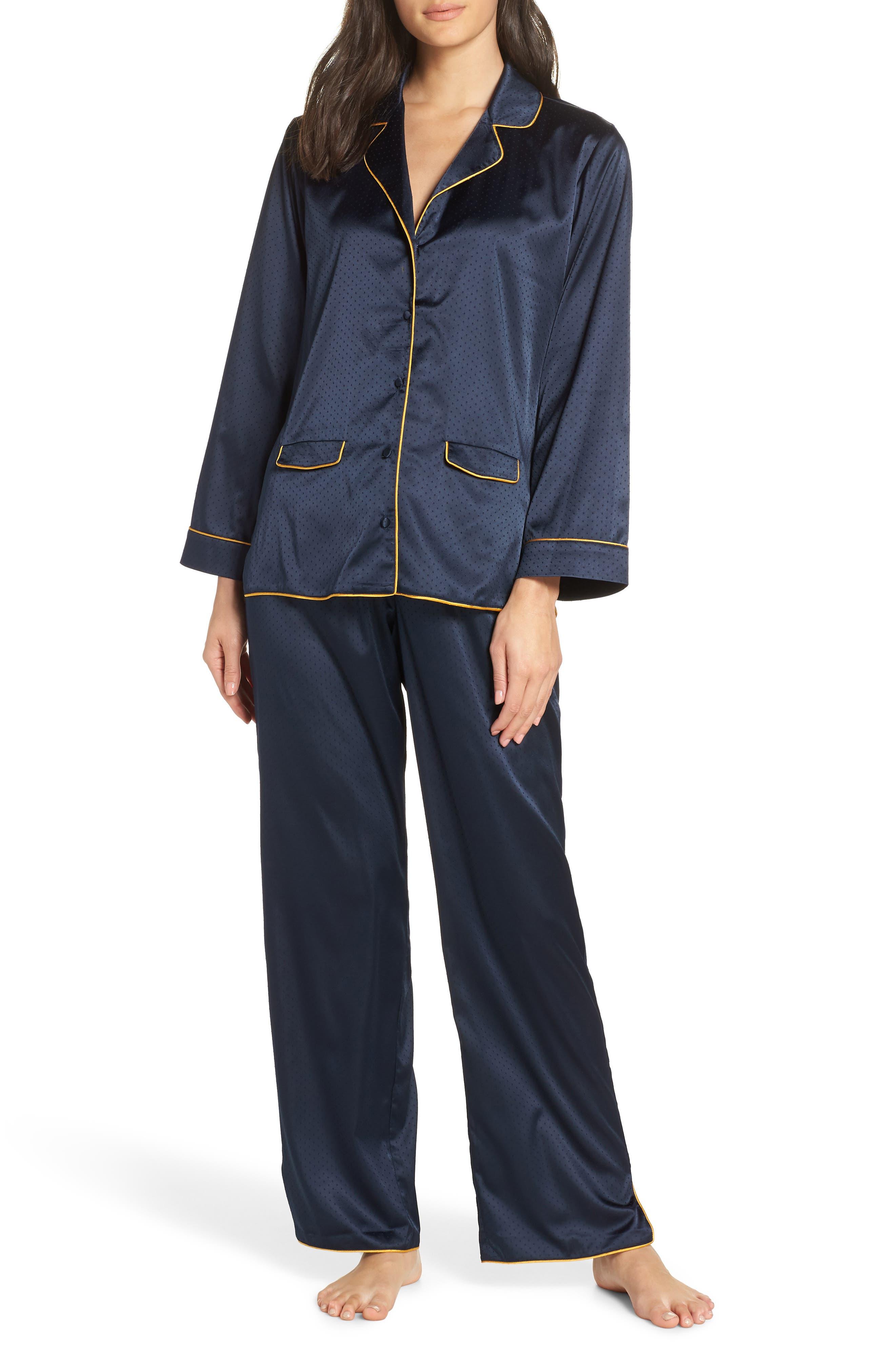 So Sweet Pajamas,                             Main thumbnail 1, color,                             NAVY SAPPHIRE