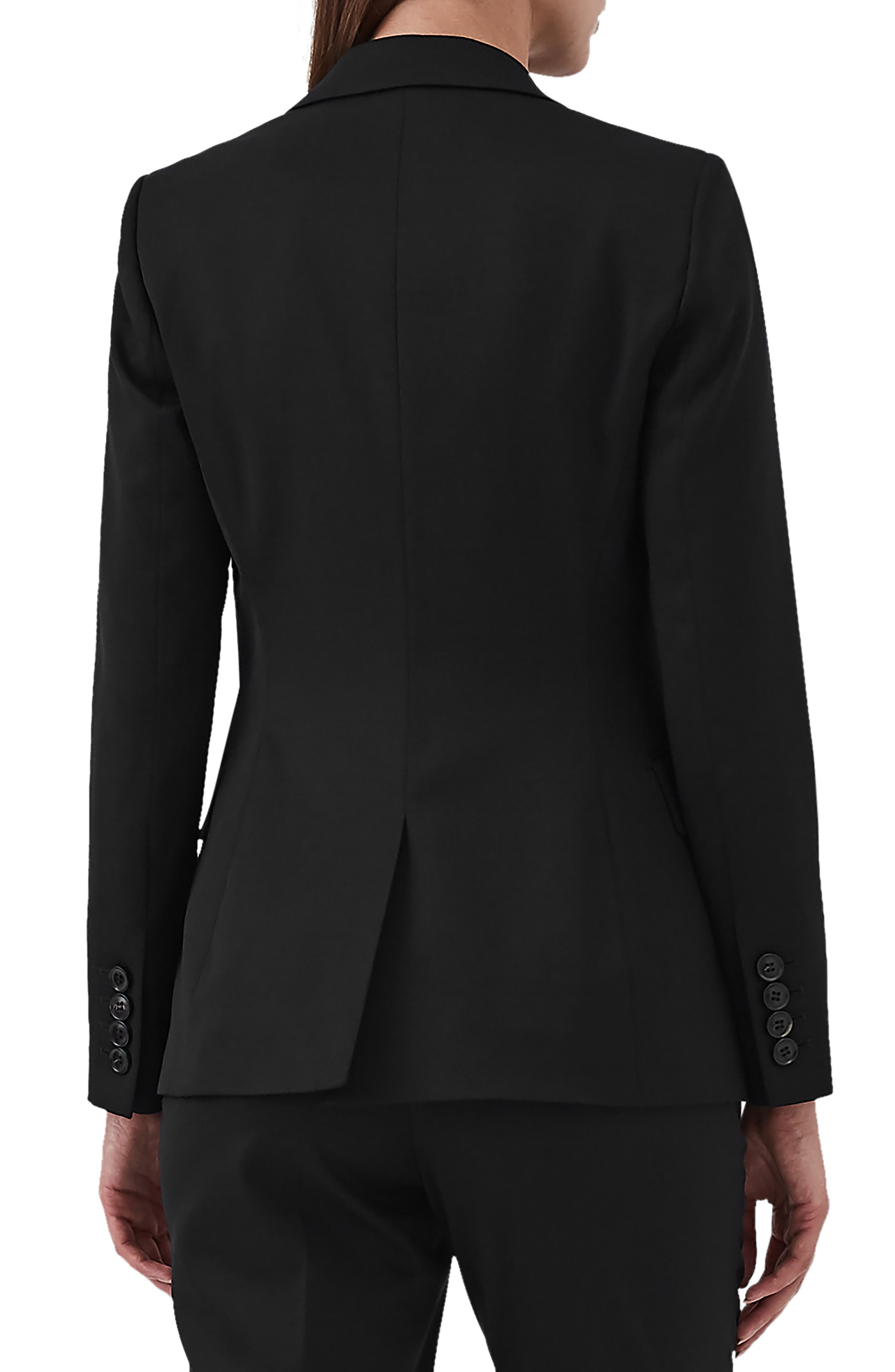 Harper Slim Fit Jacket,                             Alternate thumbnail 2, color,                             BLACK