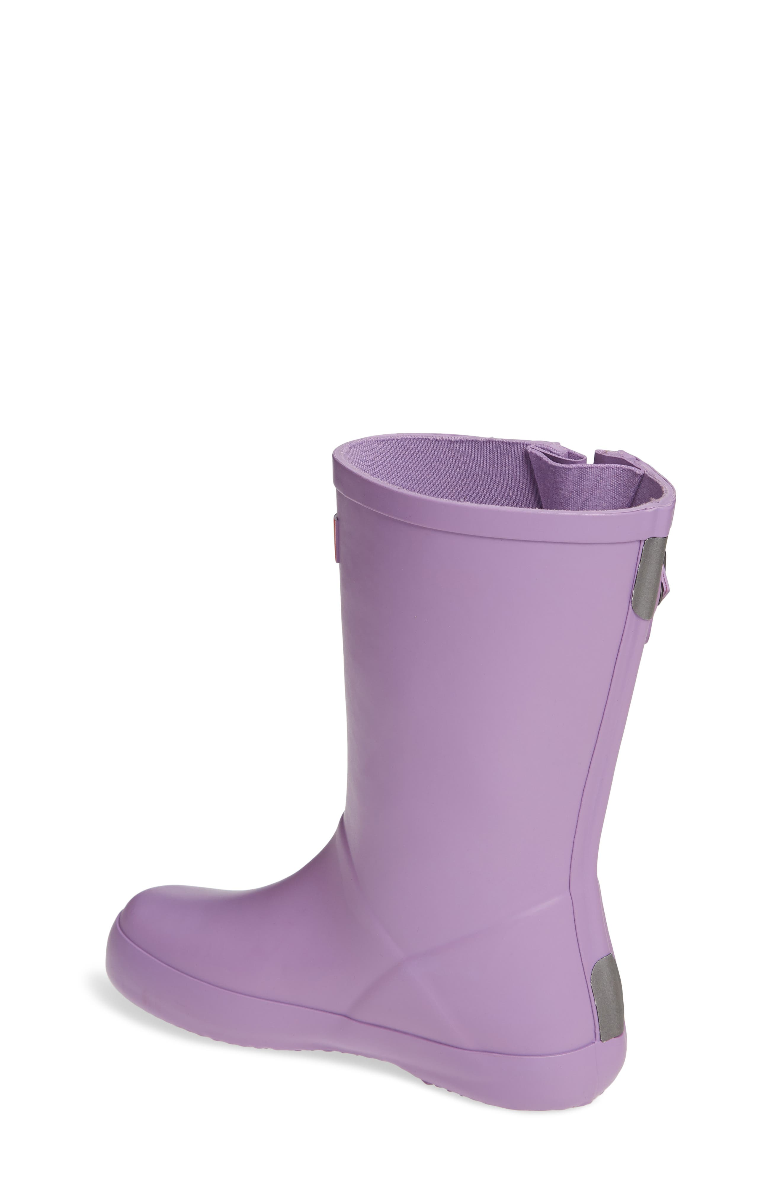 Buckle Strap Rain Boot,                             Alternate thumbnail 2, color,                             BRIGHT LAVENDER