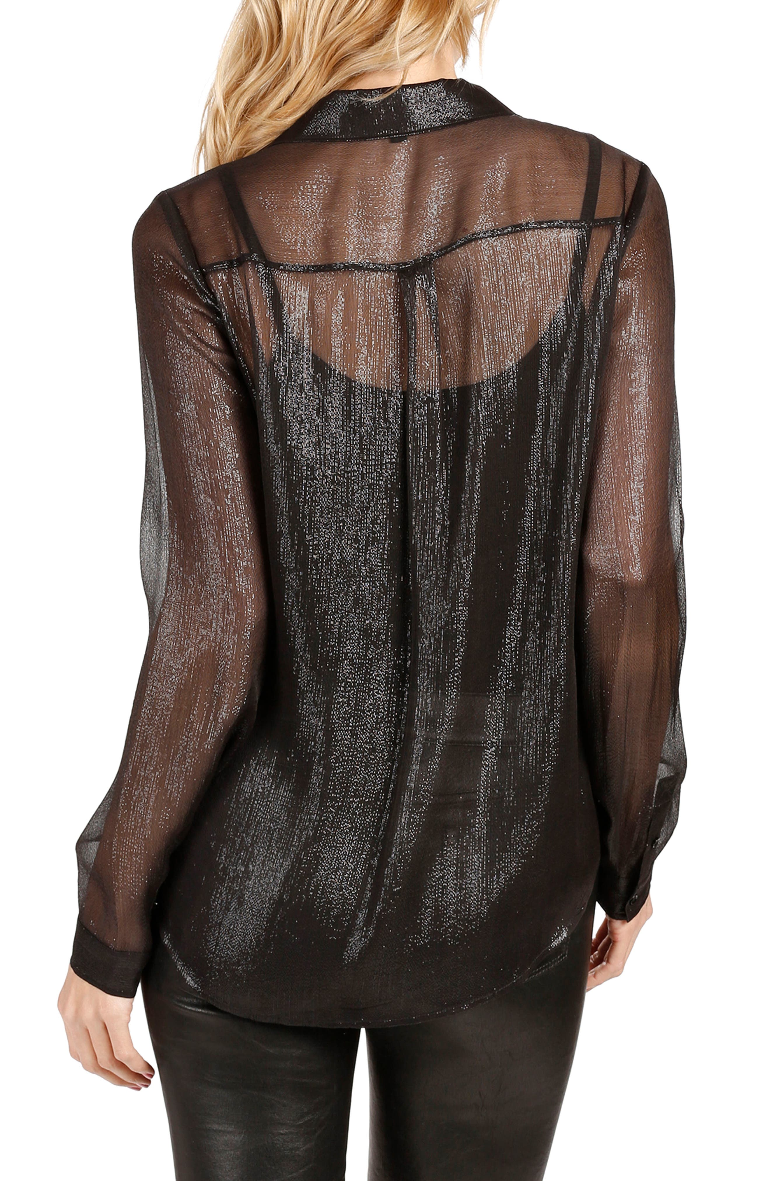 Everleigh Shirt,                             Alternate thumbnail 2, color,                             001