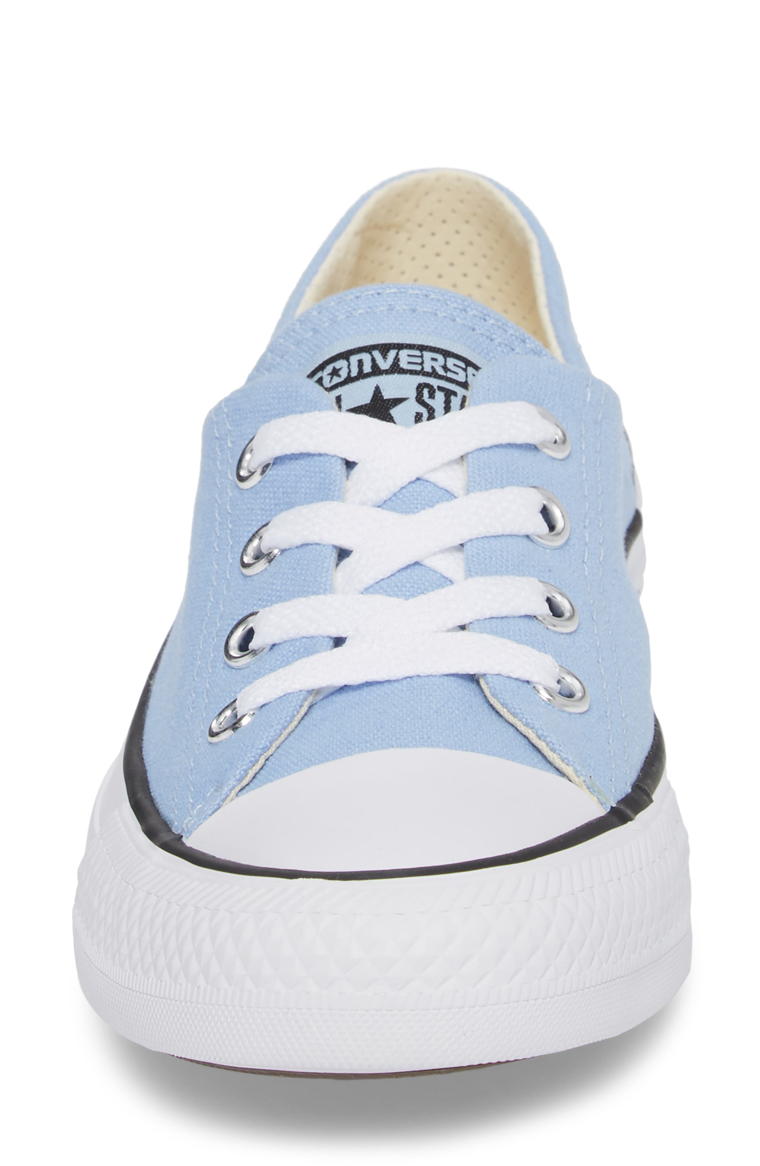 Chuck Taylor<sup>®</sup> All Star<sup>®</sup> Coral Ox Low Top Sneaker,                             Alternate thumbnail 4, color,                             457