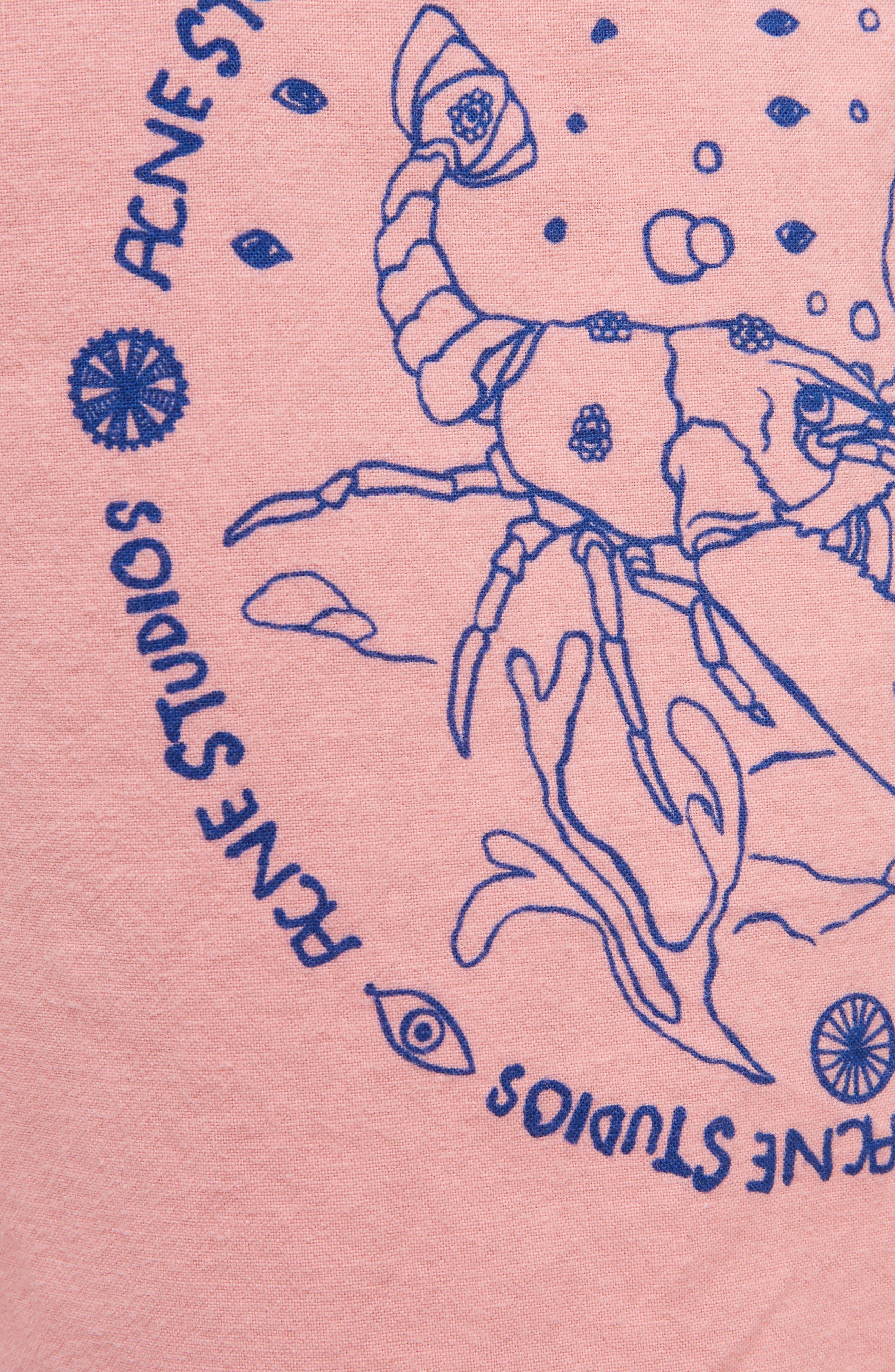 Nejlika Print Shorts,                             Alternate thumbnail 5, color,                             650