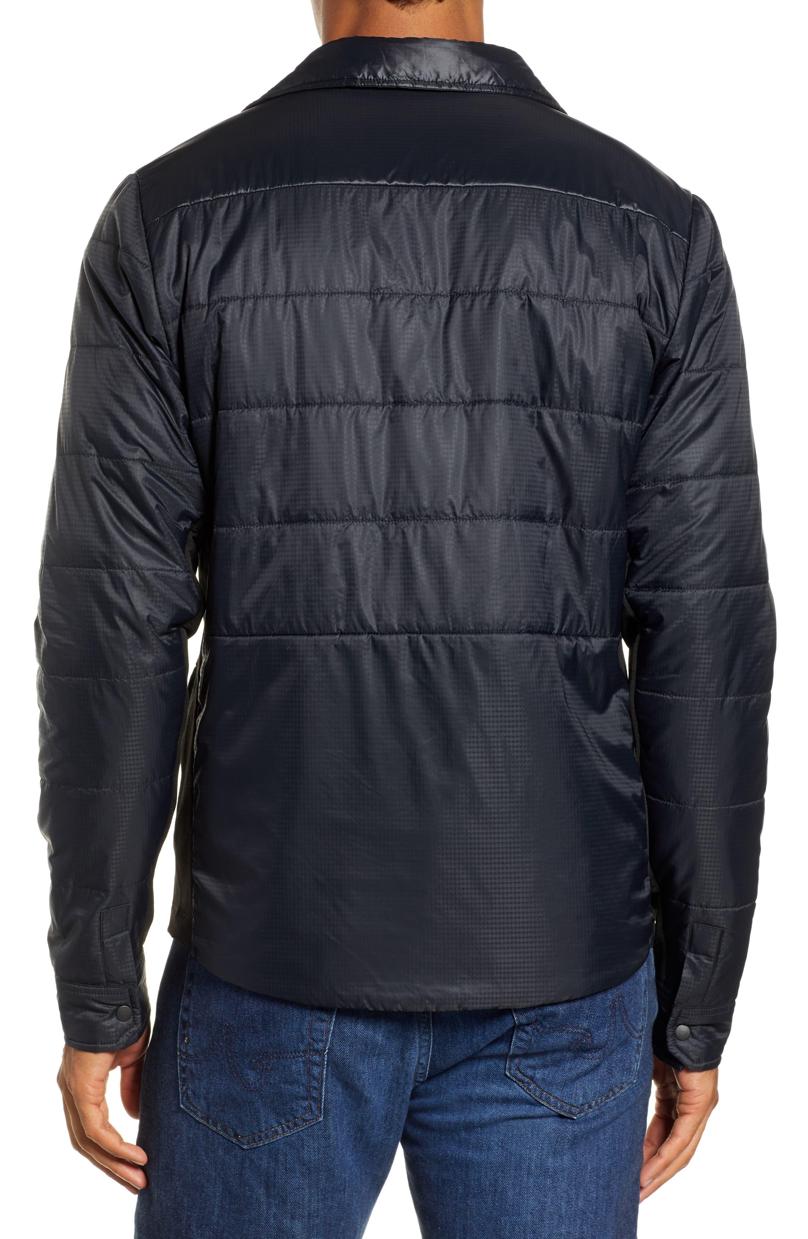SmartLoft 60 Shirt Jacket,                             Alternate thumbnail 2, color,                             BLACK