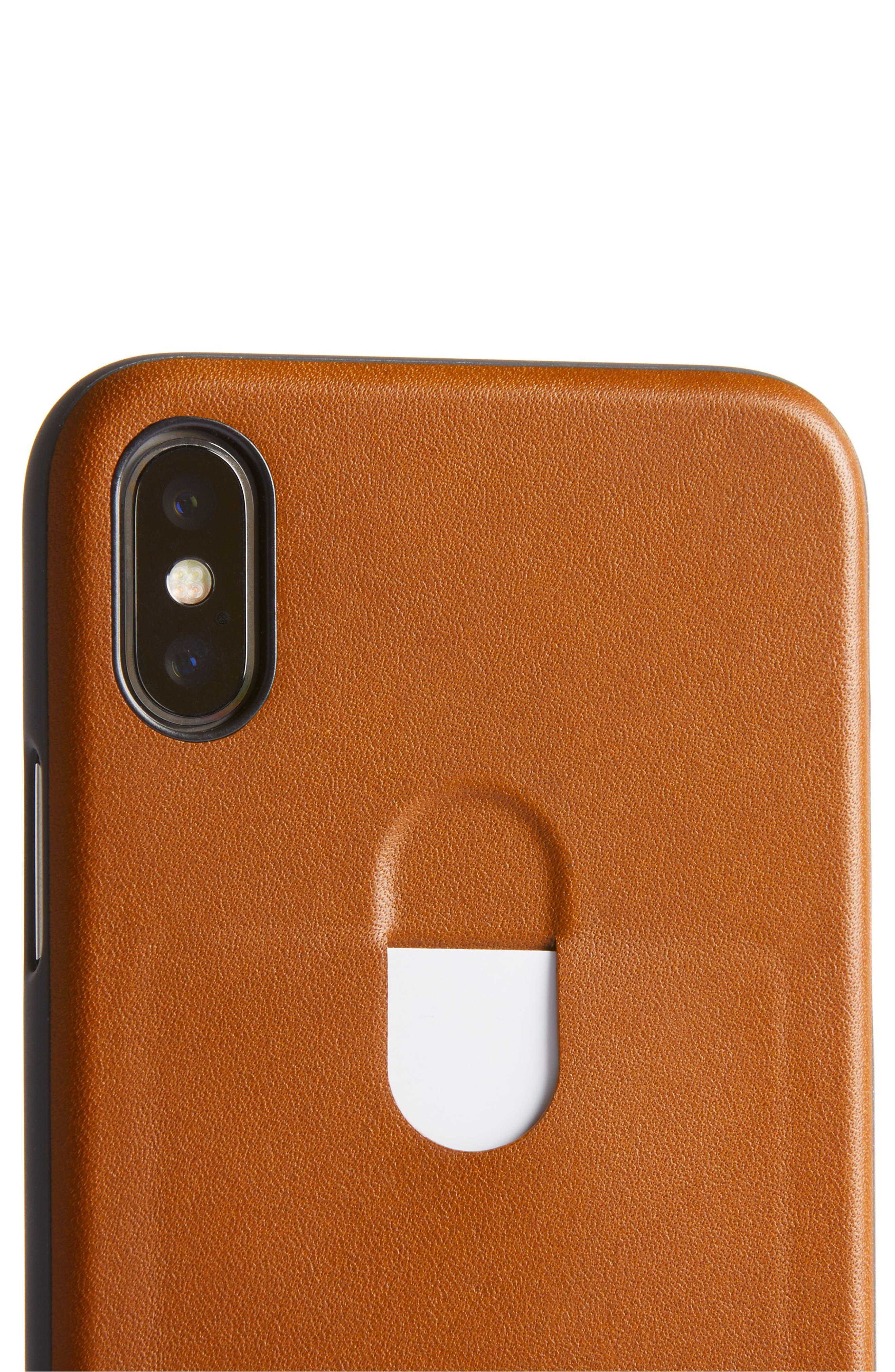 Single Card iPhone X Case,                             Alternate thumbnail 15, color,