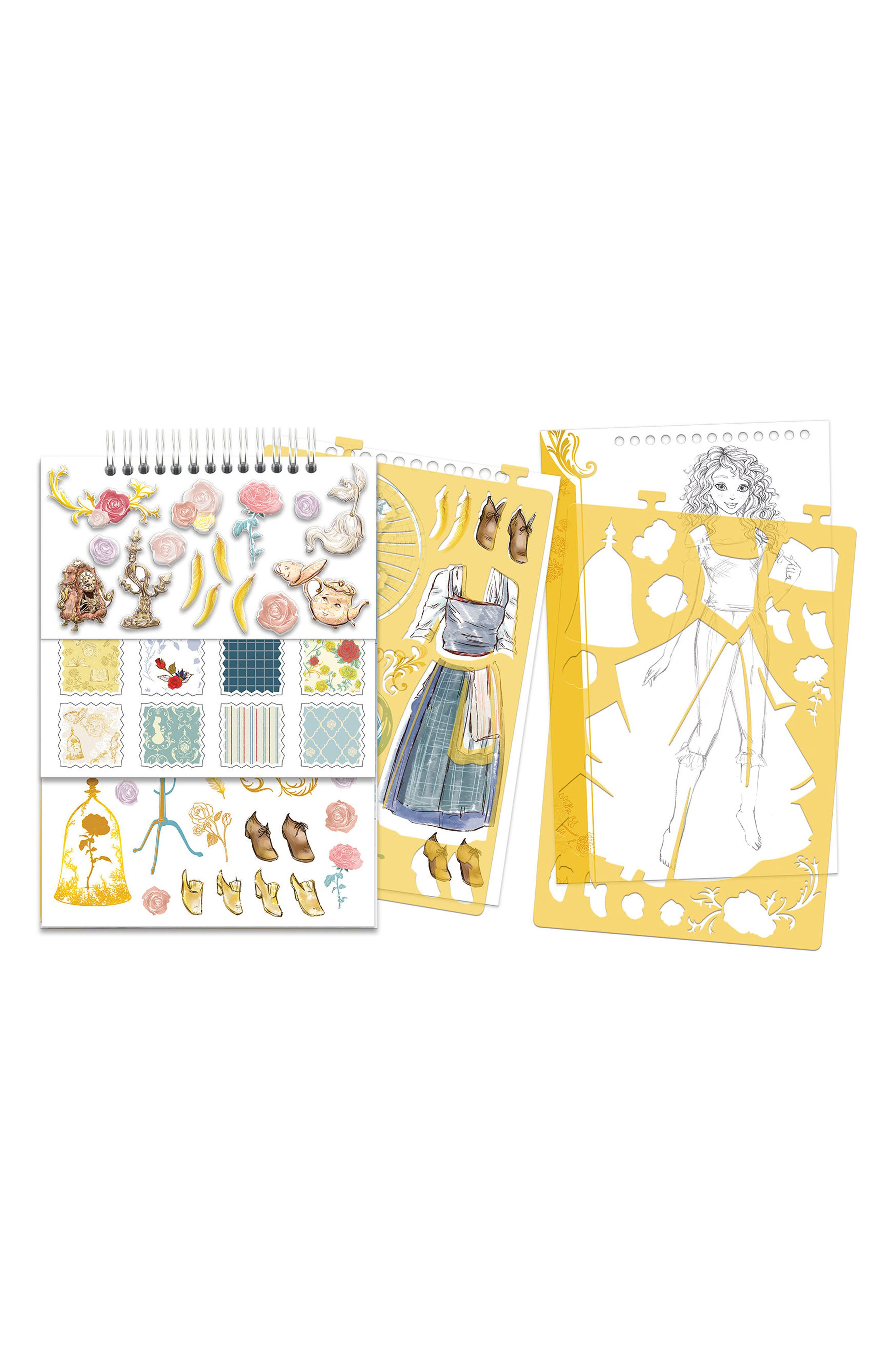 Disney Beauty and the Beast Sketchbook,                             Alternate thumbnail 2, color,                             700