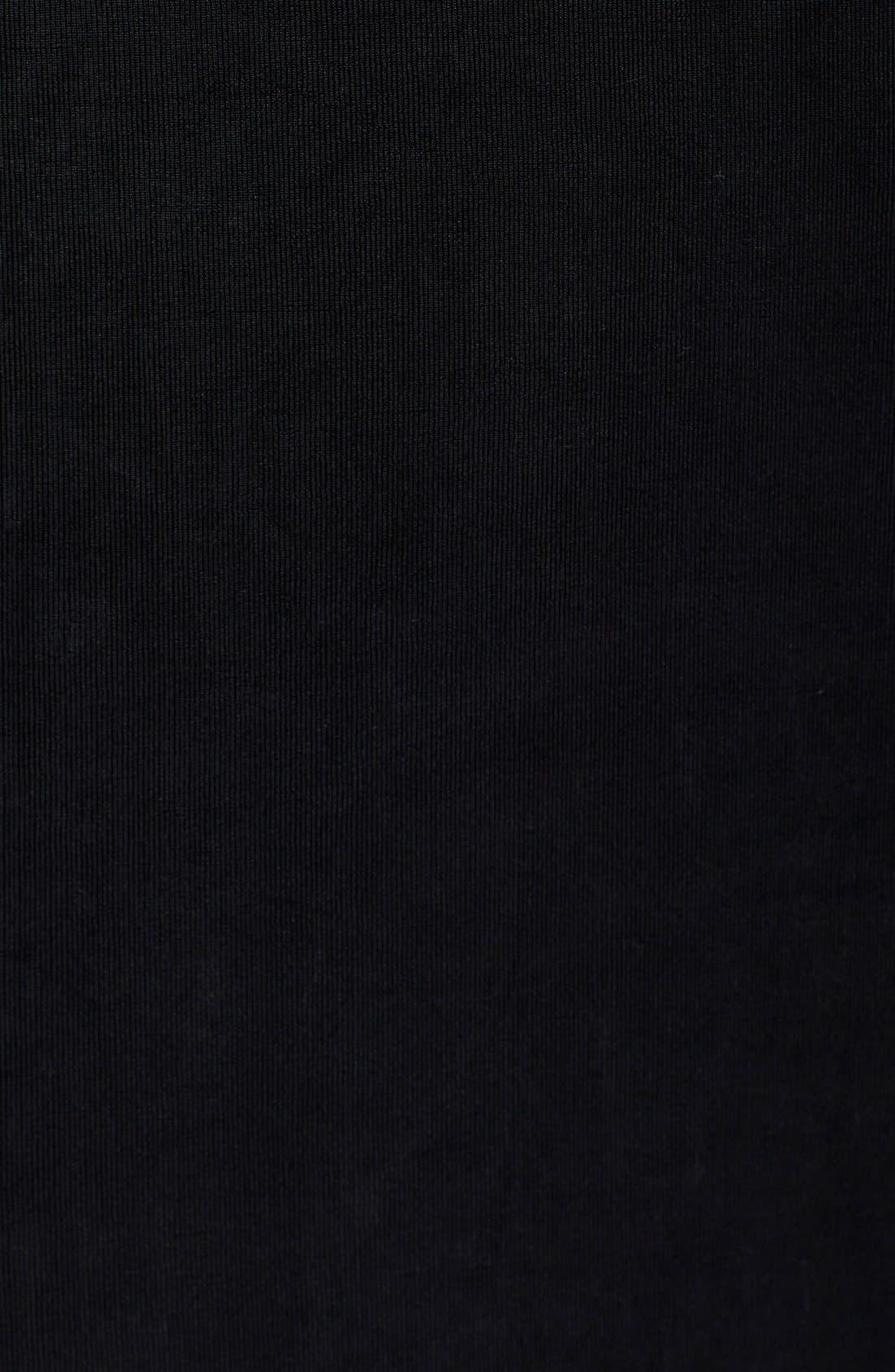 Sleeveless Maxi Tank Dress,                             Alternate thumbnail 8, color,                             BLACK