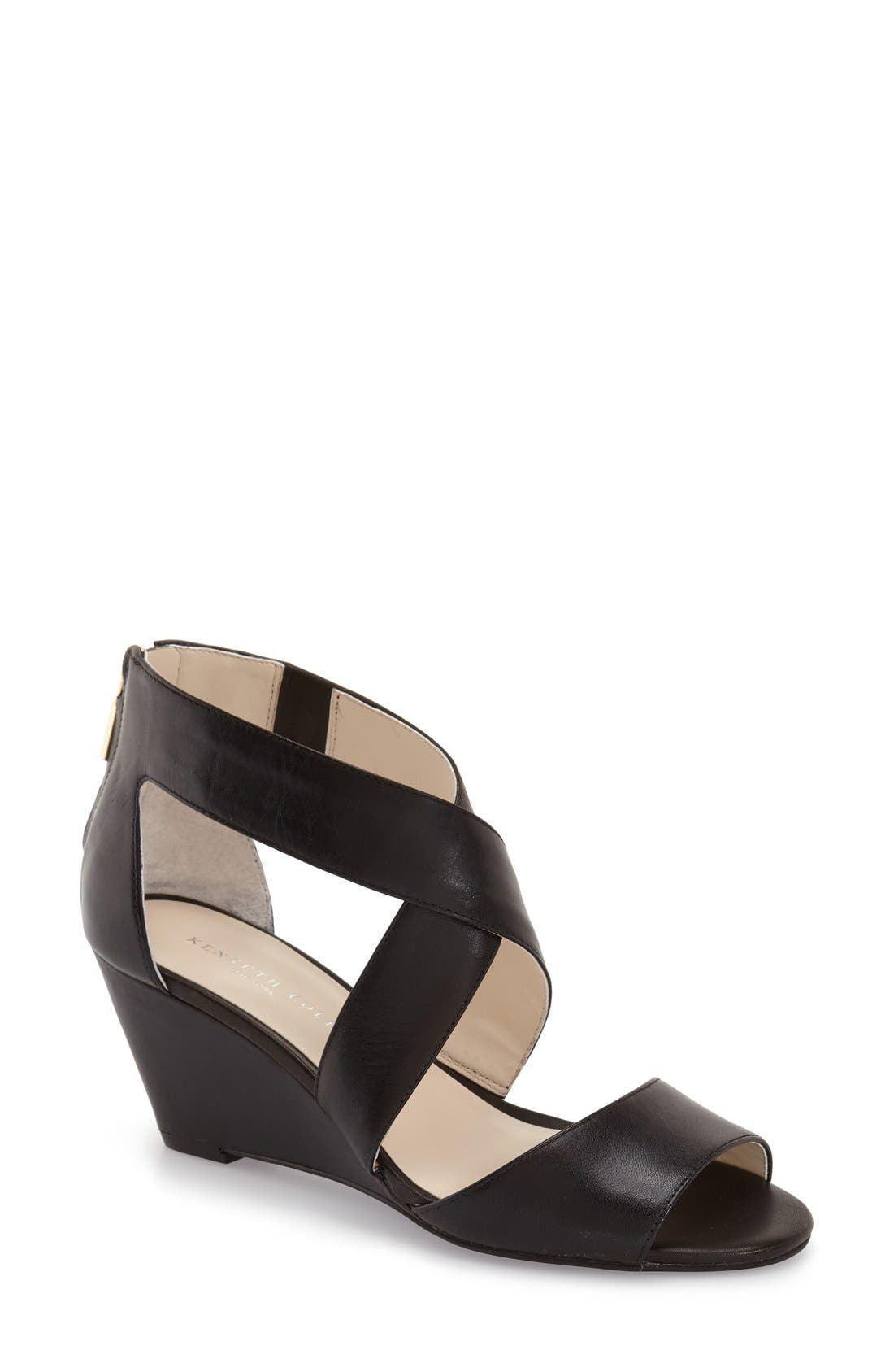 'Drina' Wedge Sandal,                         Main,                         color,