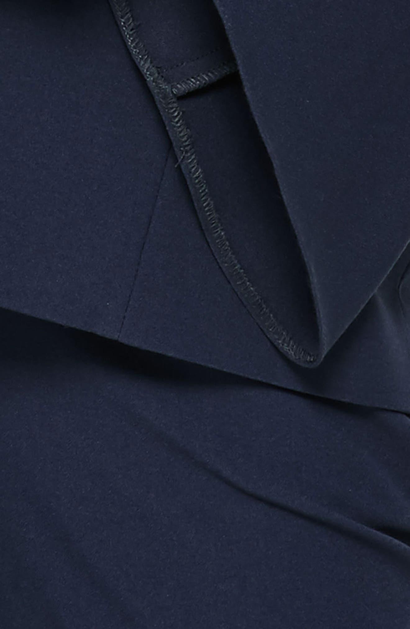 Bell Sleeve Blazer,                             Alternate thumbnail 4, color,                             410