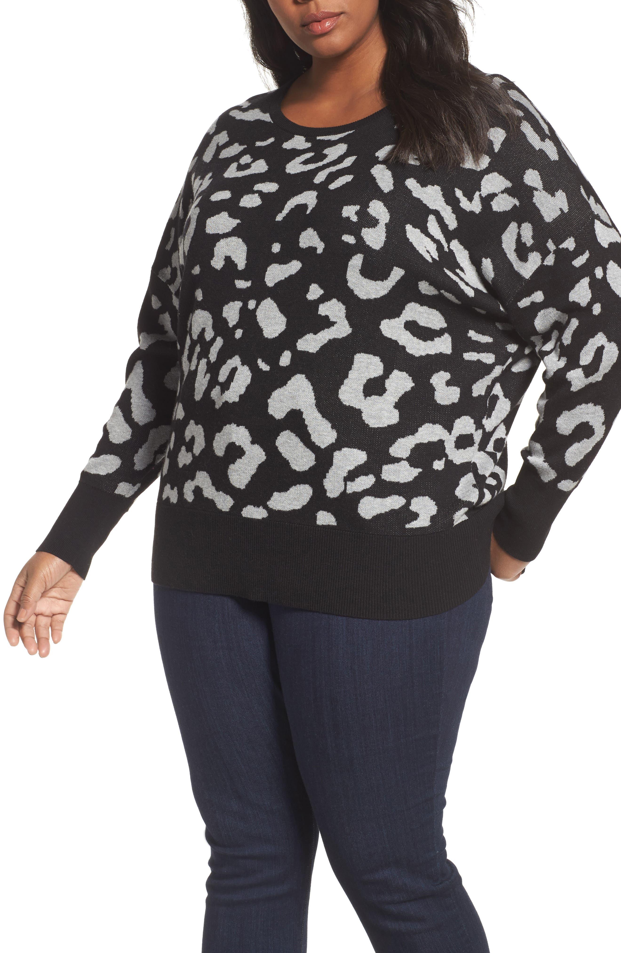 Dolman Sleeve Crewneck Sweater,                             Main thumbnail 2, color,