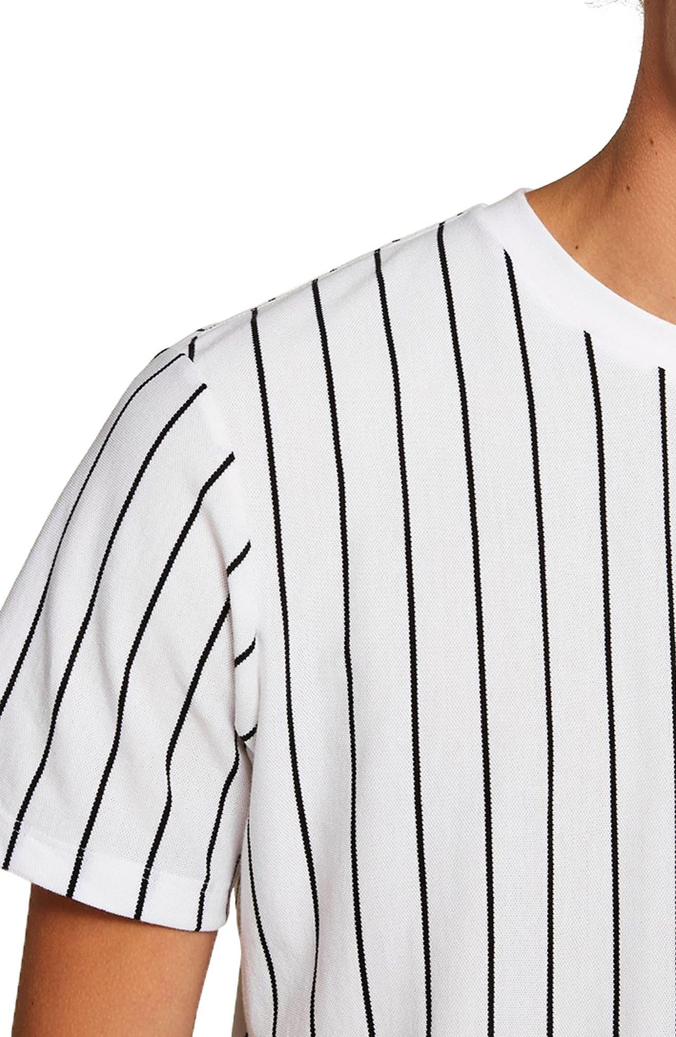 Stripe T-Shirt,                             Alternate thumbnail 3, color,                             WHITE MULTI