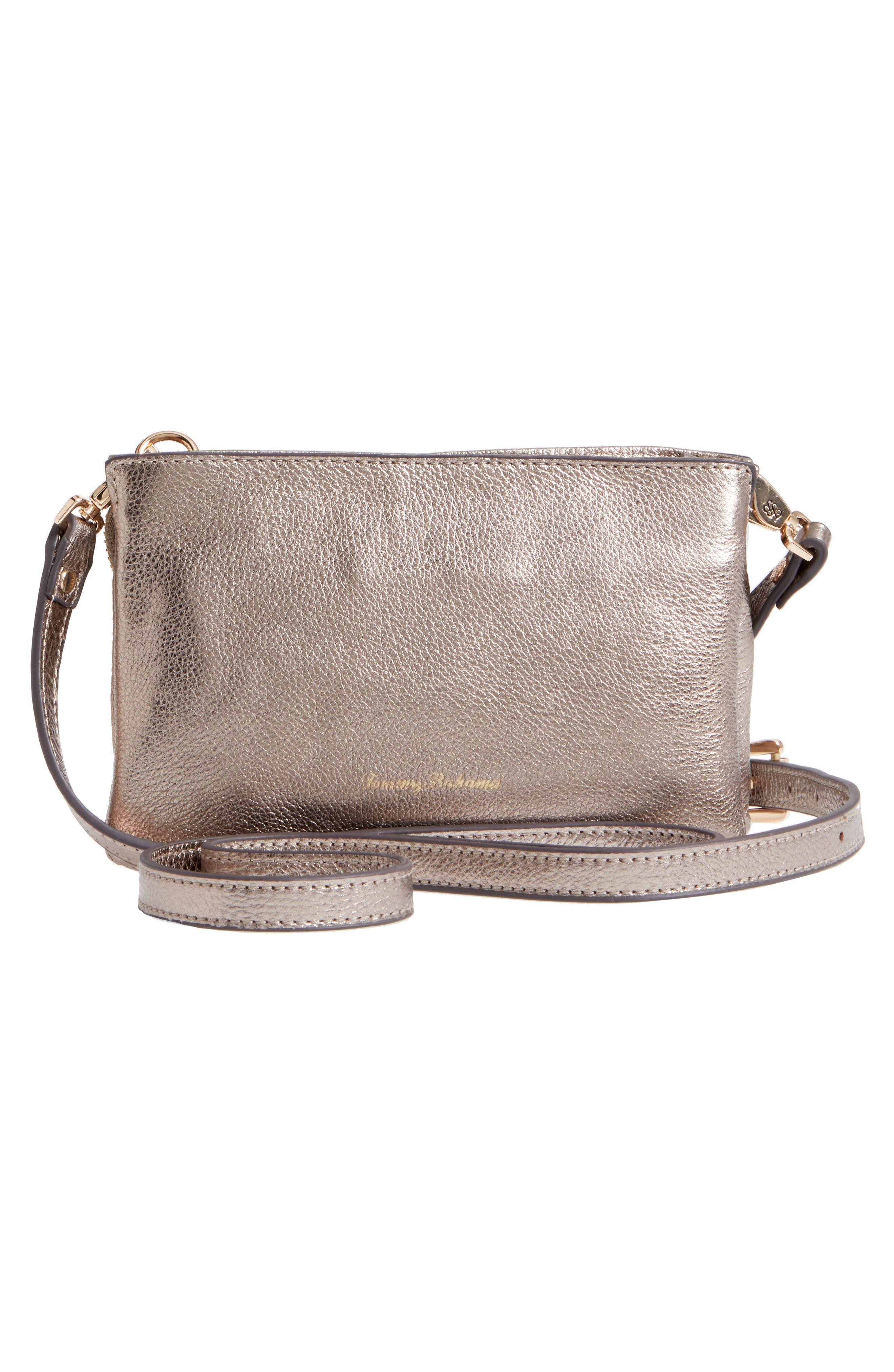 Katerini Leather Crossbody Wallet,                             Alternate thumbnail 17, color,