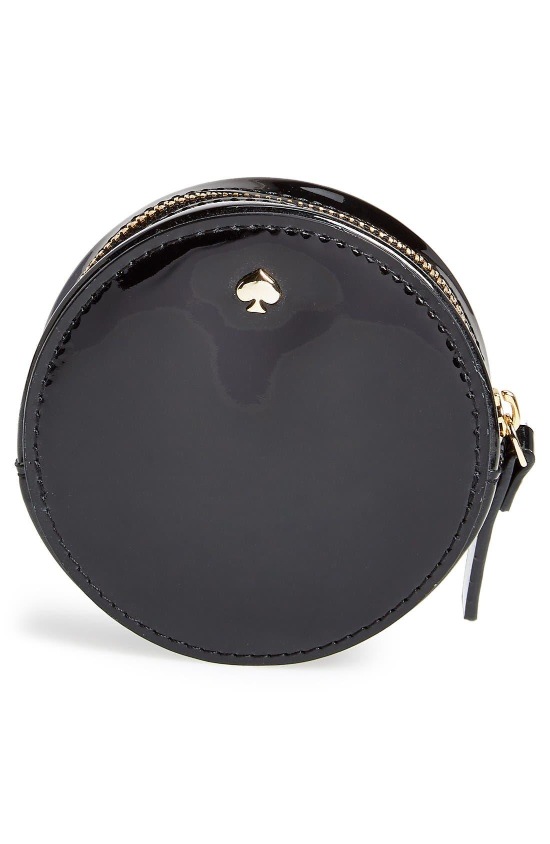 'all aboard - clock' coin purse,                             Alternate thumbnail 2, color,                             001