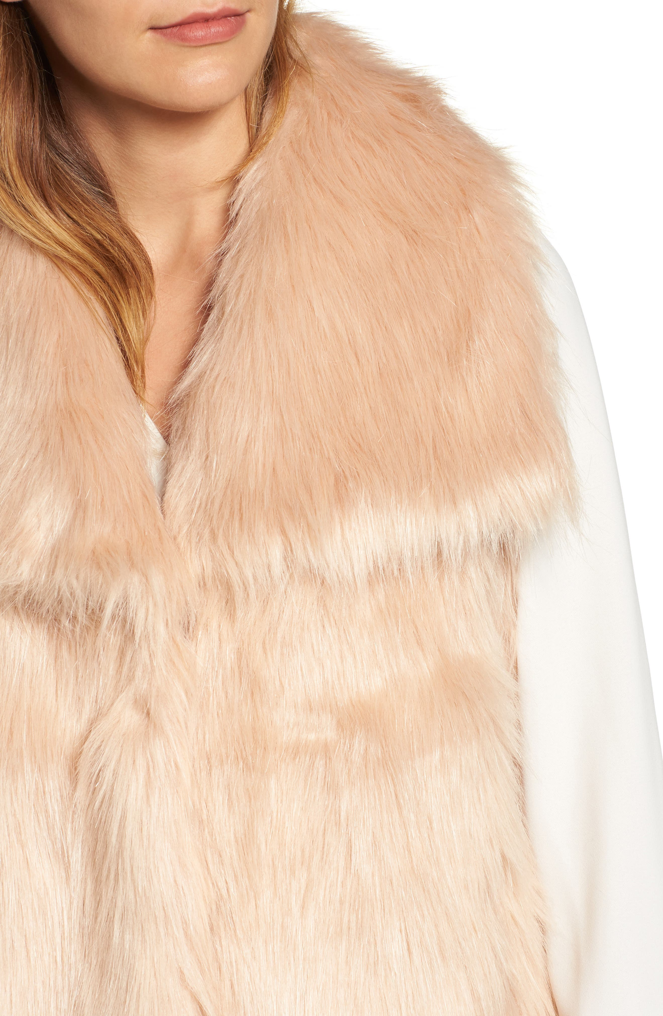 Faux Fur Vest,                             Alternate thumbnail 14, color,