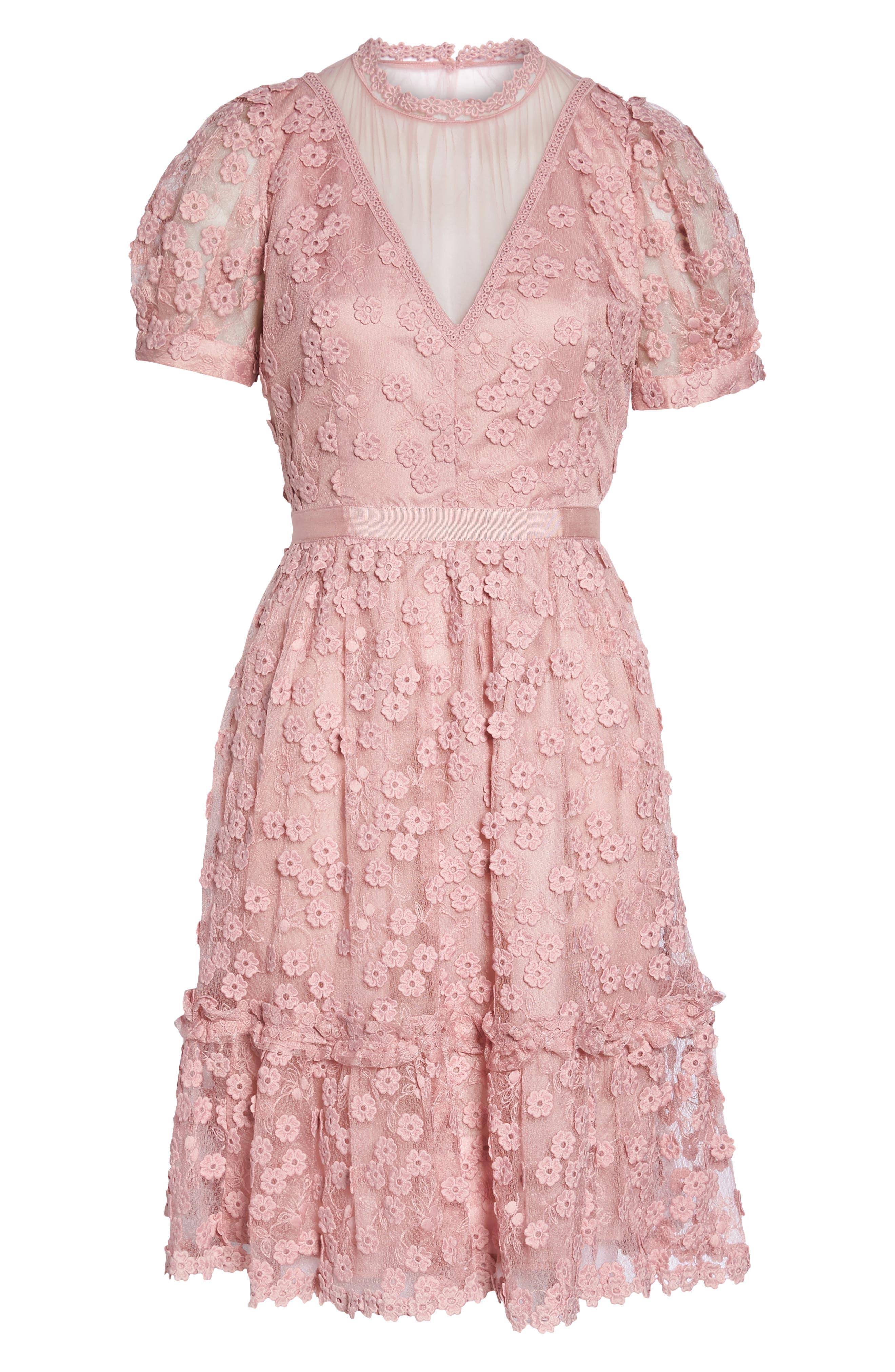 Caballo Lace Dress,                             Alternate thumbnail 7, color,                             655