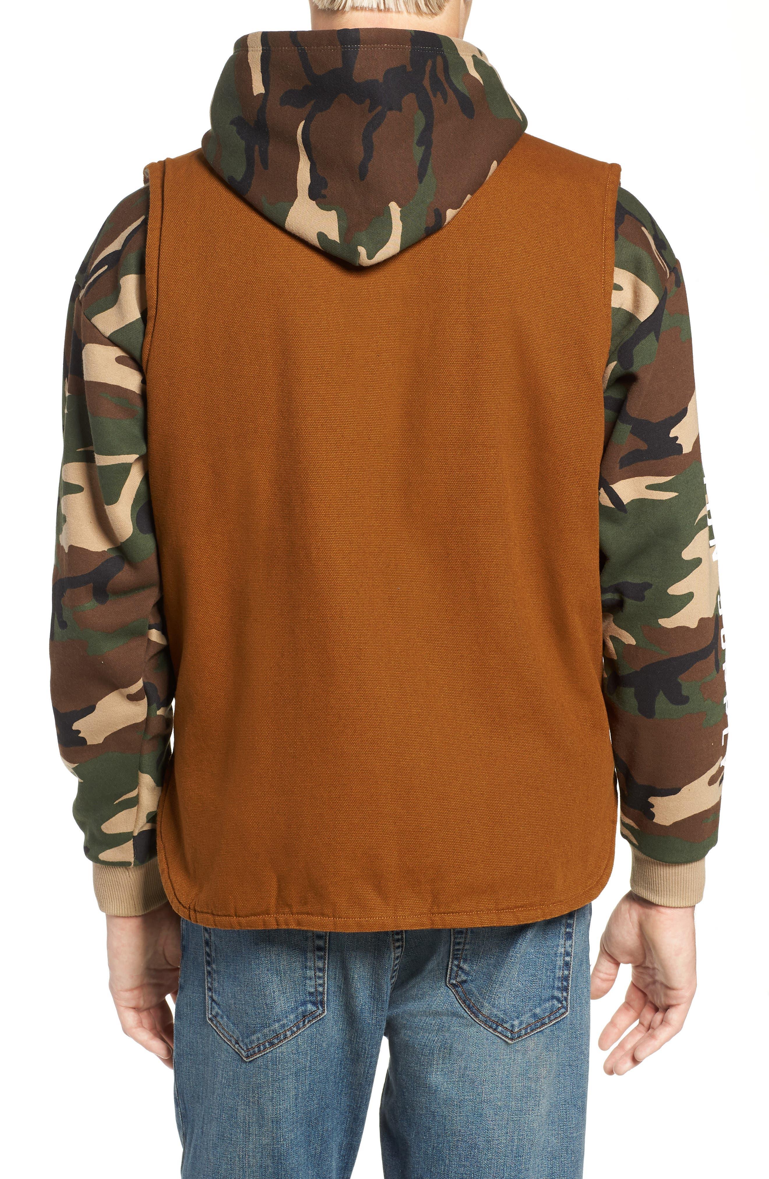 Abraham Water Resistant Vest,                             Alternate thumbnail 2, color,                             COPPER