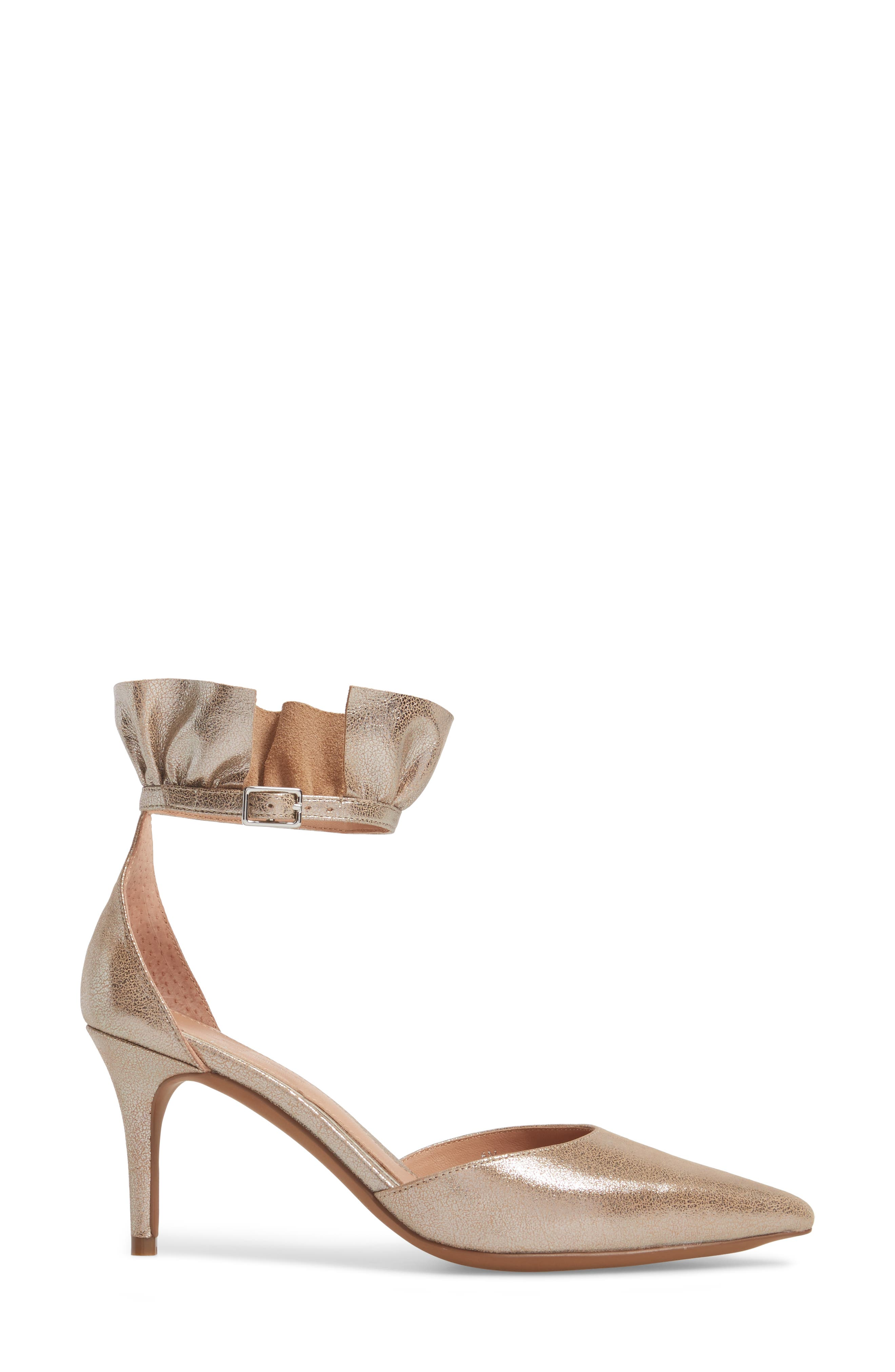 Pammy Ruffled Pointy Toe Pump,                             Alternate thumbnail 15, color,