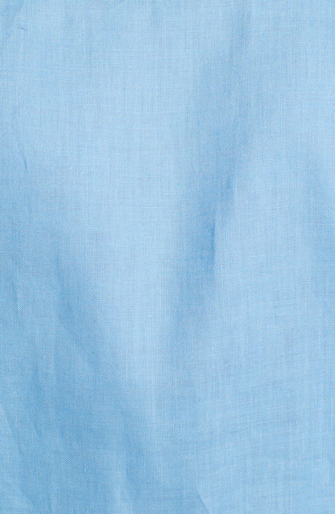'Caroubier' Linen Shirt,                             Alternate thumbnail 38, color,
