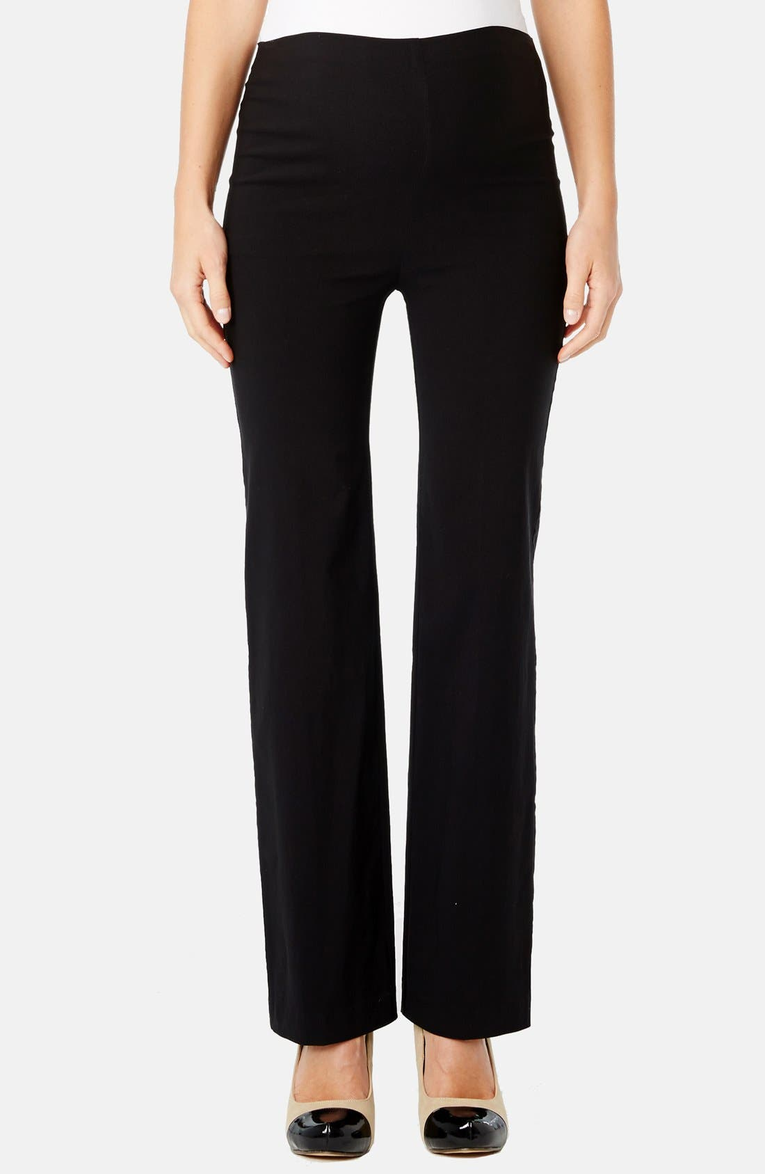 'Pret' Maternity Trousers,                             Main thumbnail 1, color,                             001