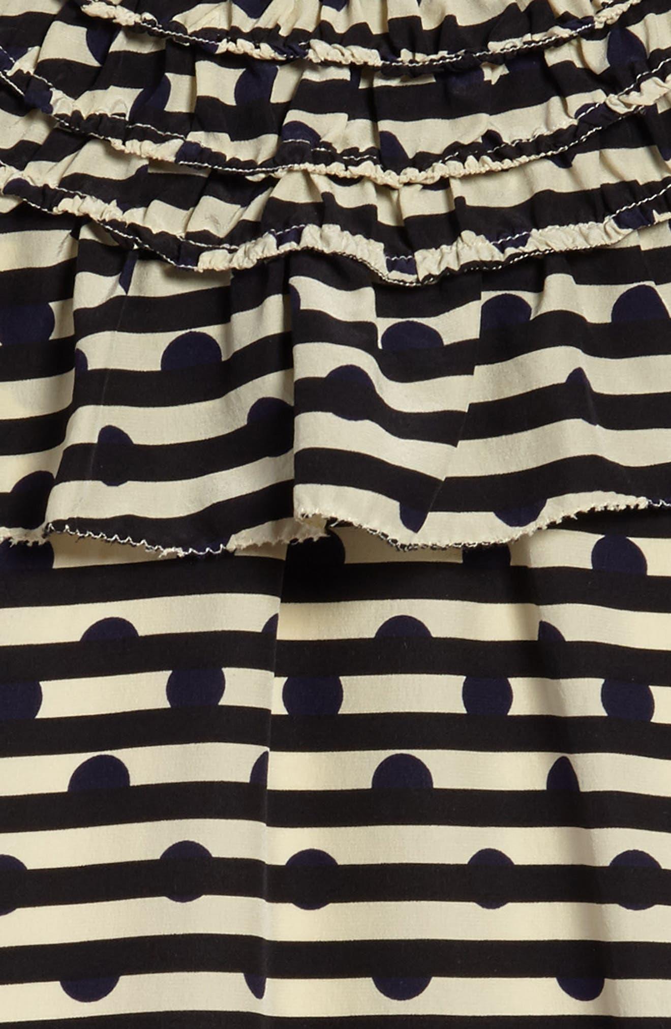 Lilla Silk Shift Dress,                             Alternate thumbnail 3, color,                             410
