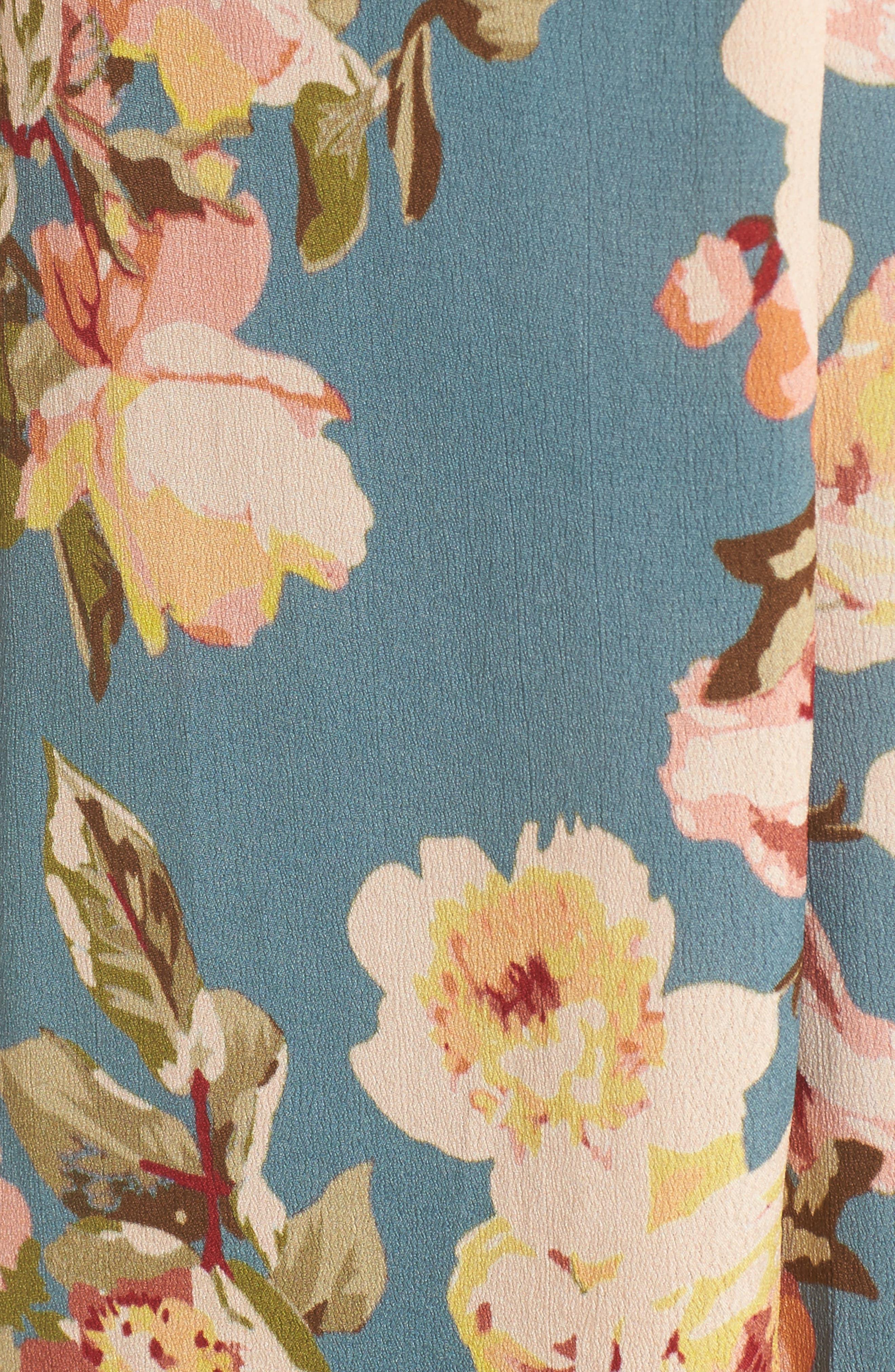 Fillmore Wrap Maxi Dress,                             Alternate thumbnail 5, color,                             300