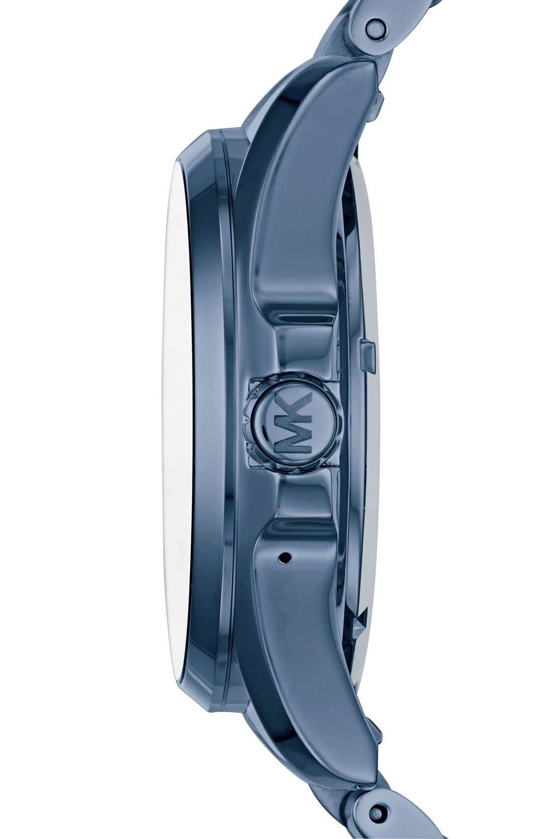 MICHAEL Michael Kors Bradshaw Access Bracelet Smart Watch, 45mm,                             Alternate thumbnail 19, color,