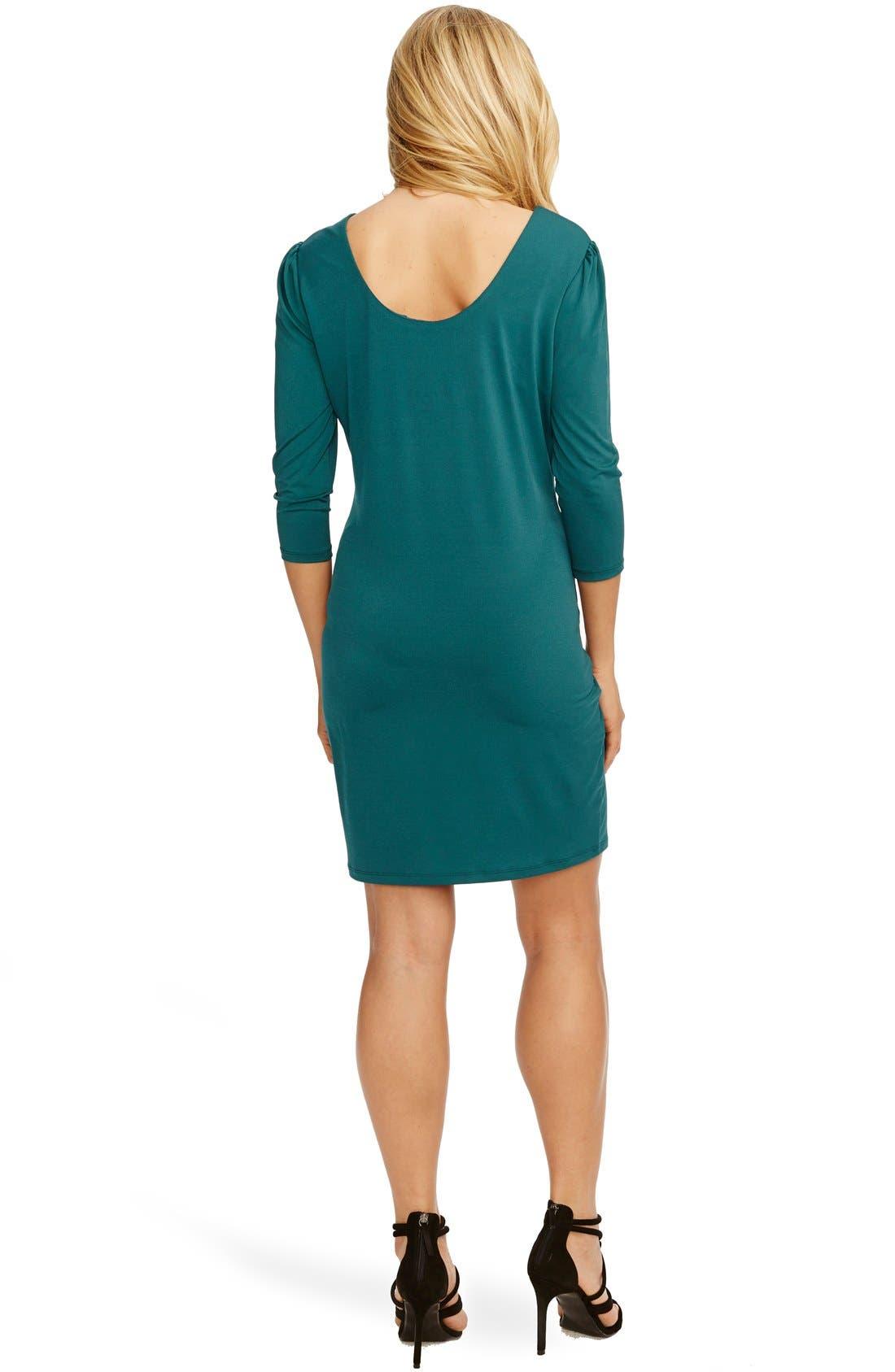 'Audra' Maternity Dress,                             Alternate thumbnail 2, color,                             401