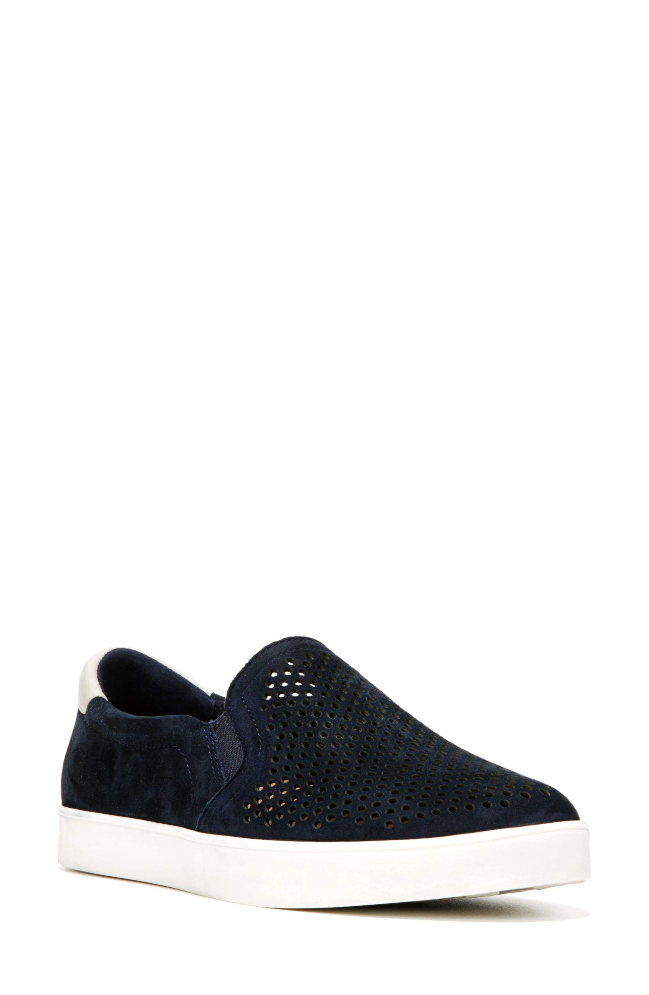 Original Collection 'Scout' Slip On Sneaker,                             Main thumbnail 1, color,                             NAVY SUEDE