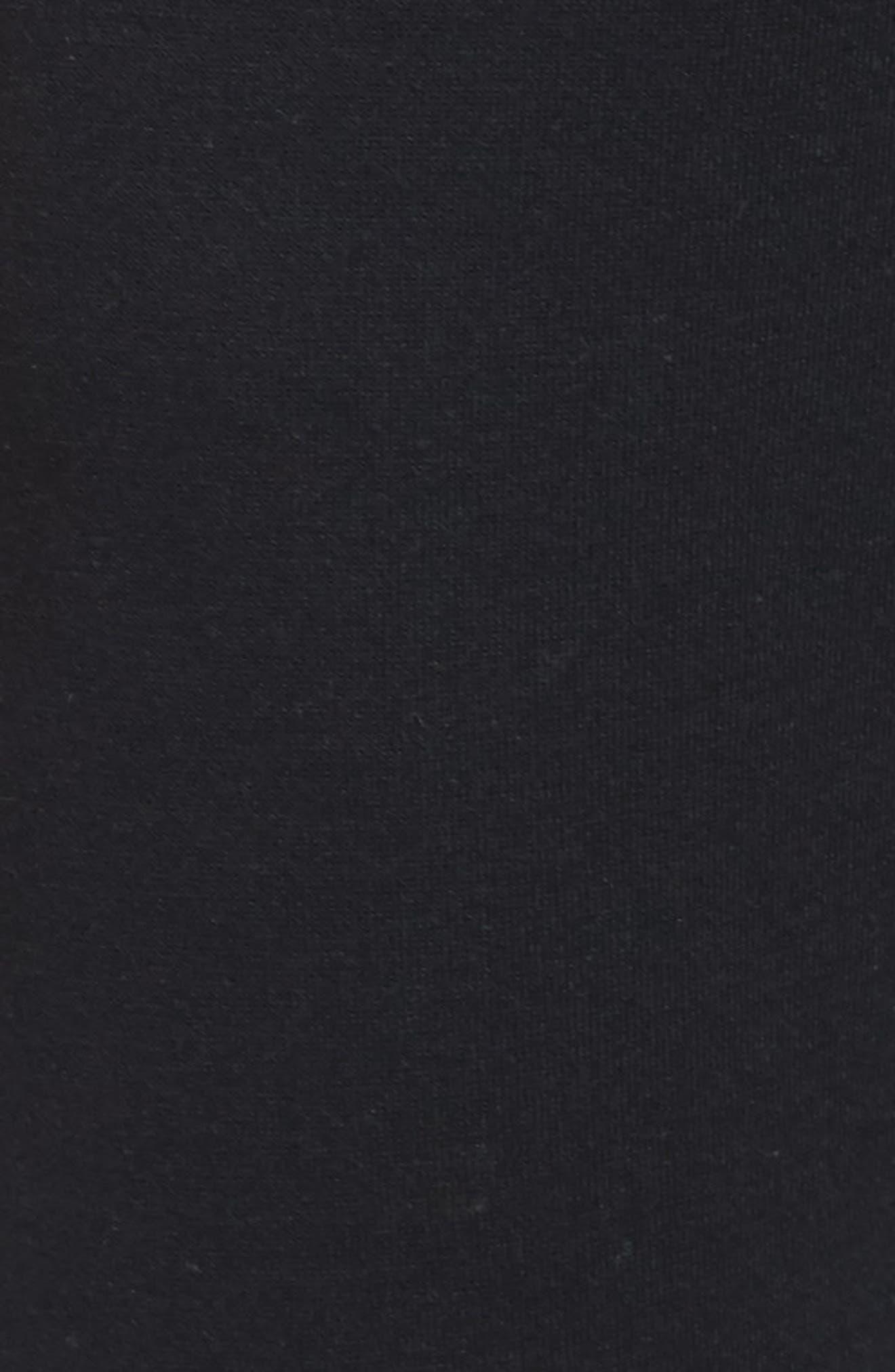 Colorblock Sweatpants,                             Alternate thumbnail 5, color,                             BLACK