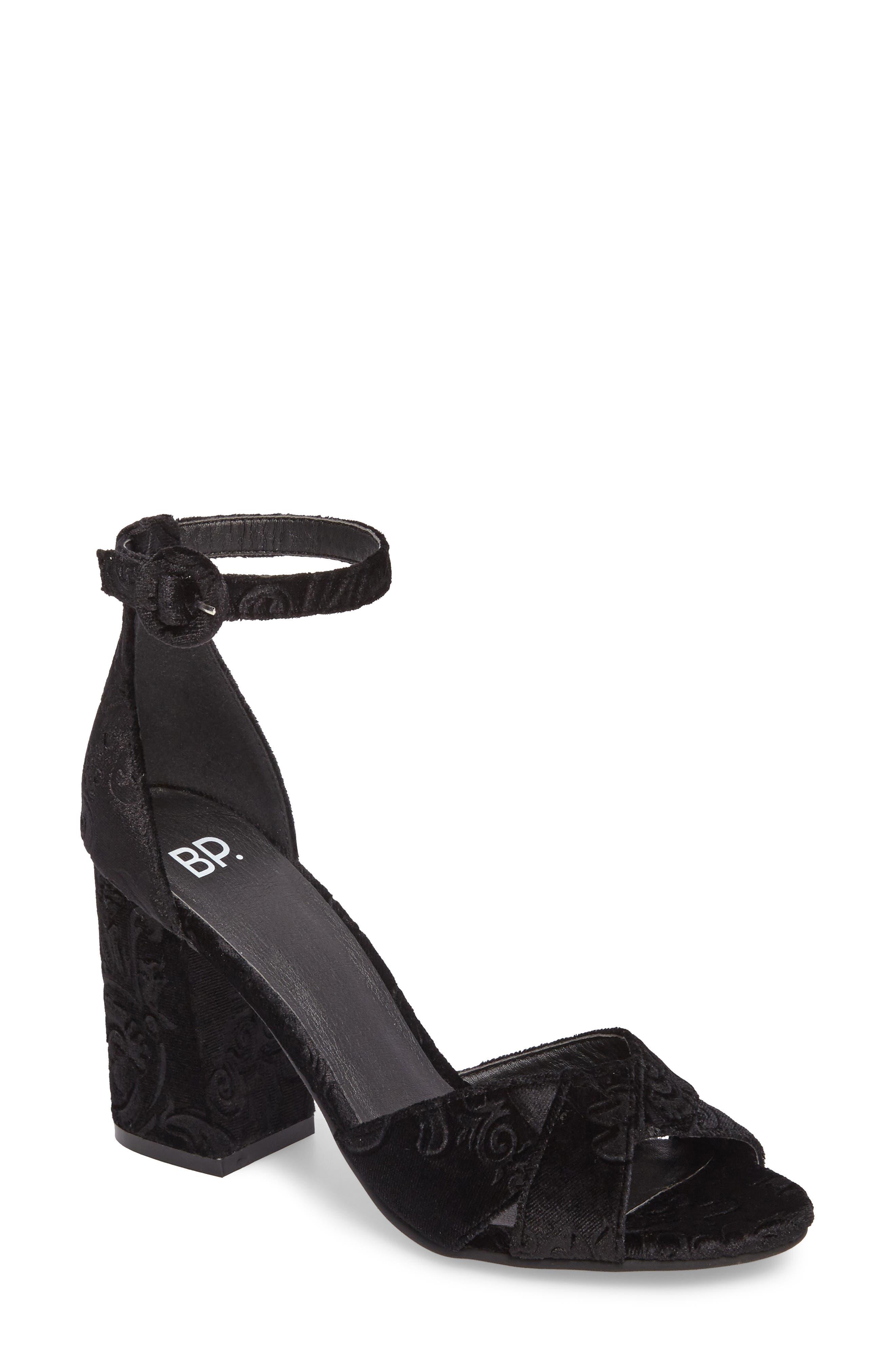 BP Casey Ankle Strap Sandal,                             Main thumbnail 1, color,                             006