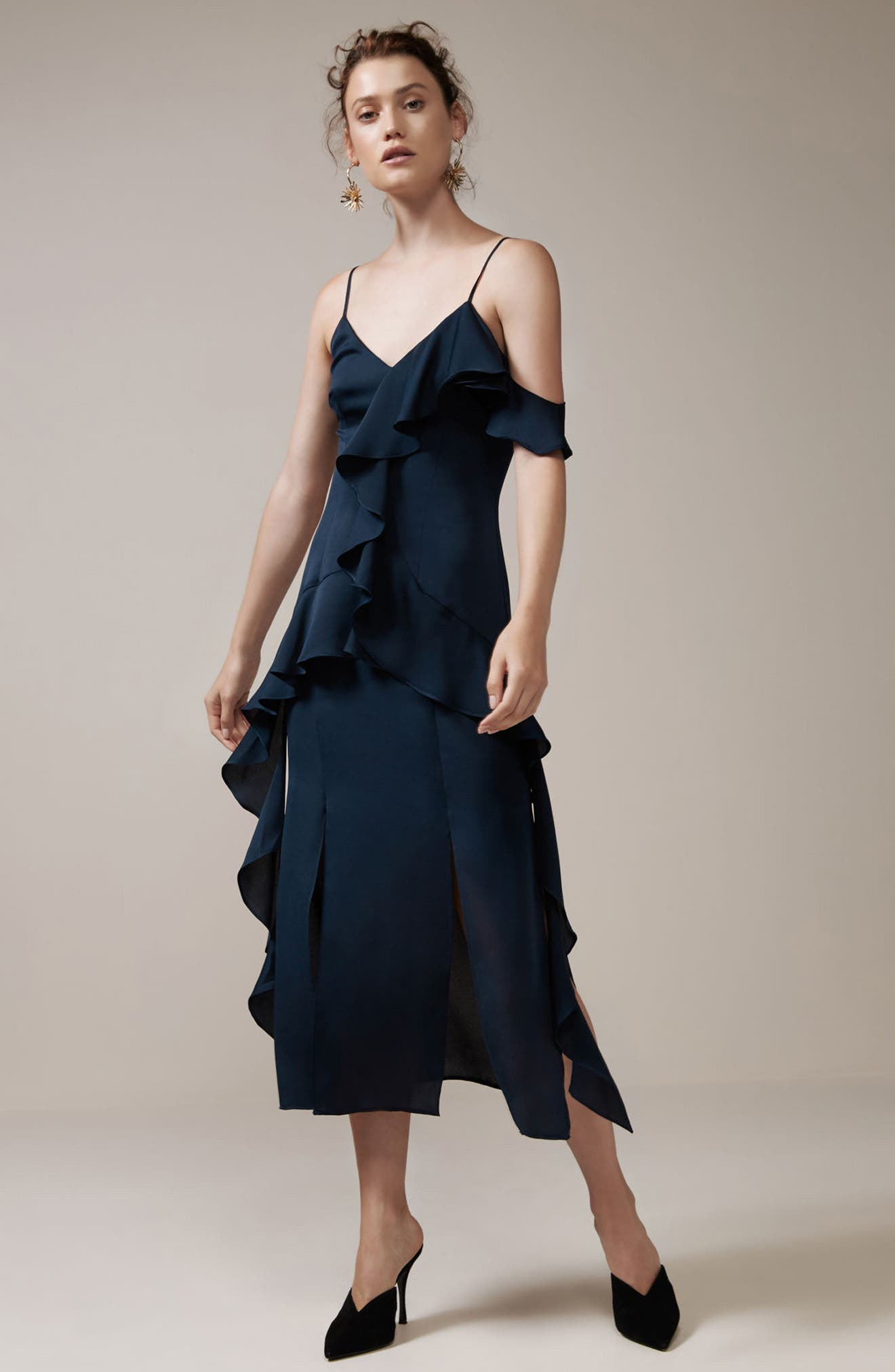 Love Bound Midi Dress,                             Alternate thumbnail 7, color,                             410